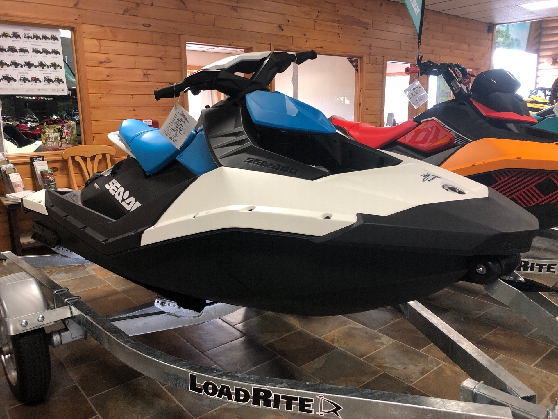 2019 Sea-Doo Spark 2up 900 ACE in Honesdale, Pennsylvania - Photo 1
