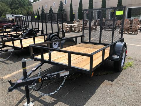 2019 Belmont Trailers LLC UT508A ANGLE IRON in Honesdale, Pennsylvania