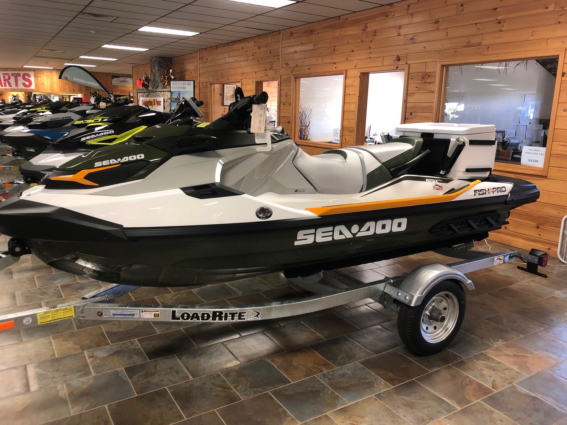 2019 Sea-Doo Fish Pro iBR in Honesdale, Pennsylvania - Photo 1