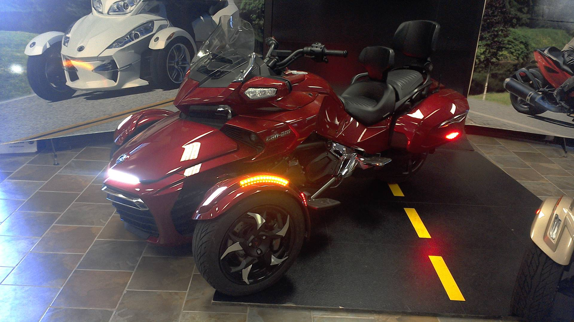 2016 Can Am Spyder F3 Limited In Honesdale Pennsylvania Photo 2