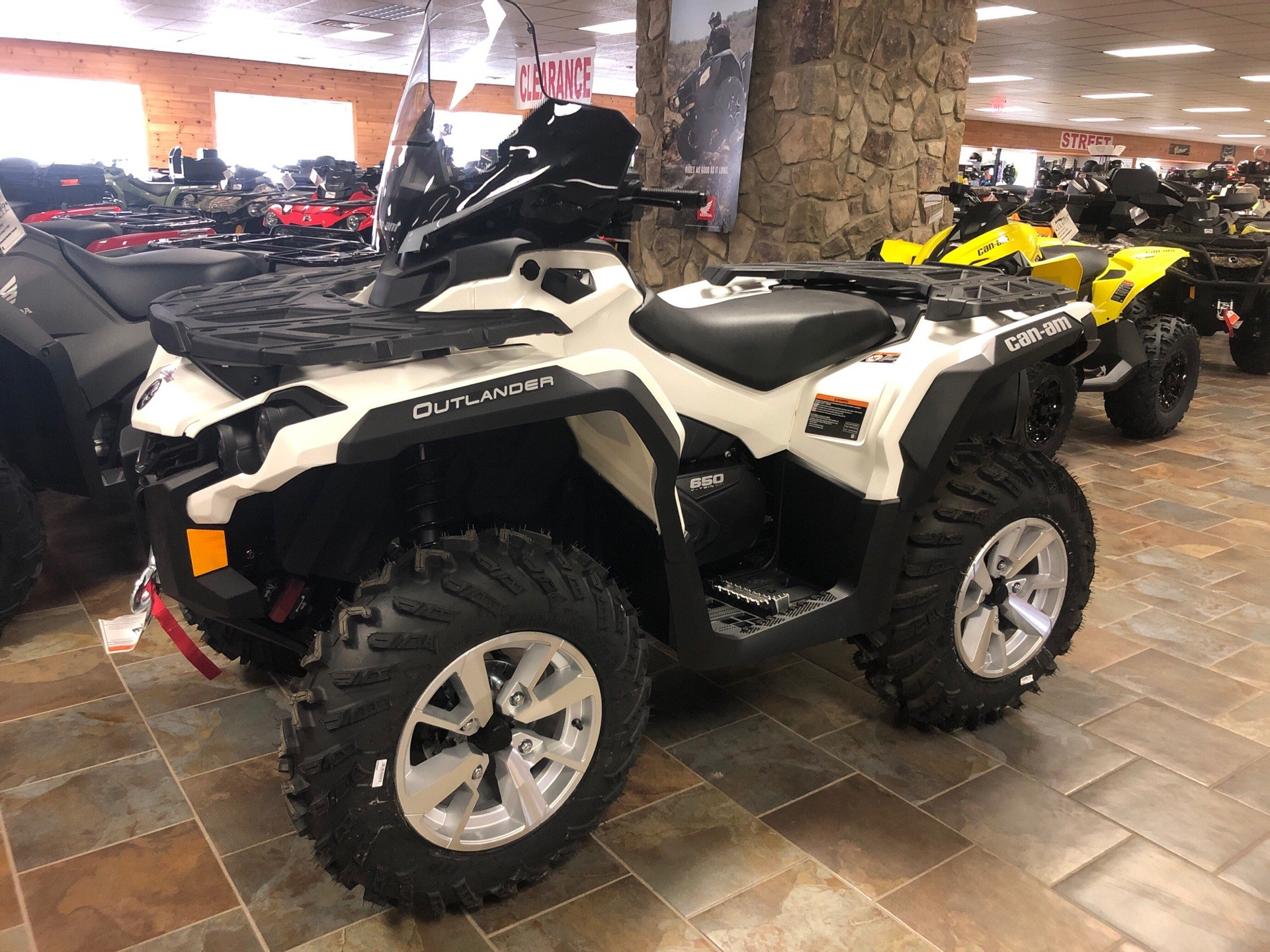 2019 Can-Am Outlander North Edition 650 in Honesdale, Pennsylvania - Photo 1