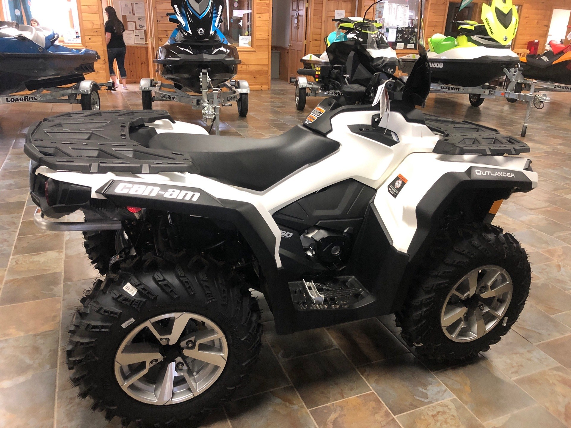 2019 Can-Am Outlander North Edition 650 in Honesdale, Pennsylvania - Photo 4