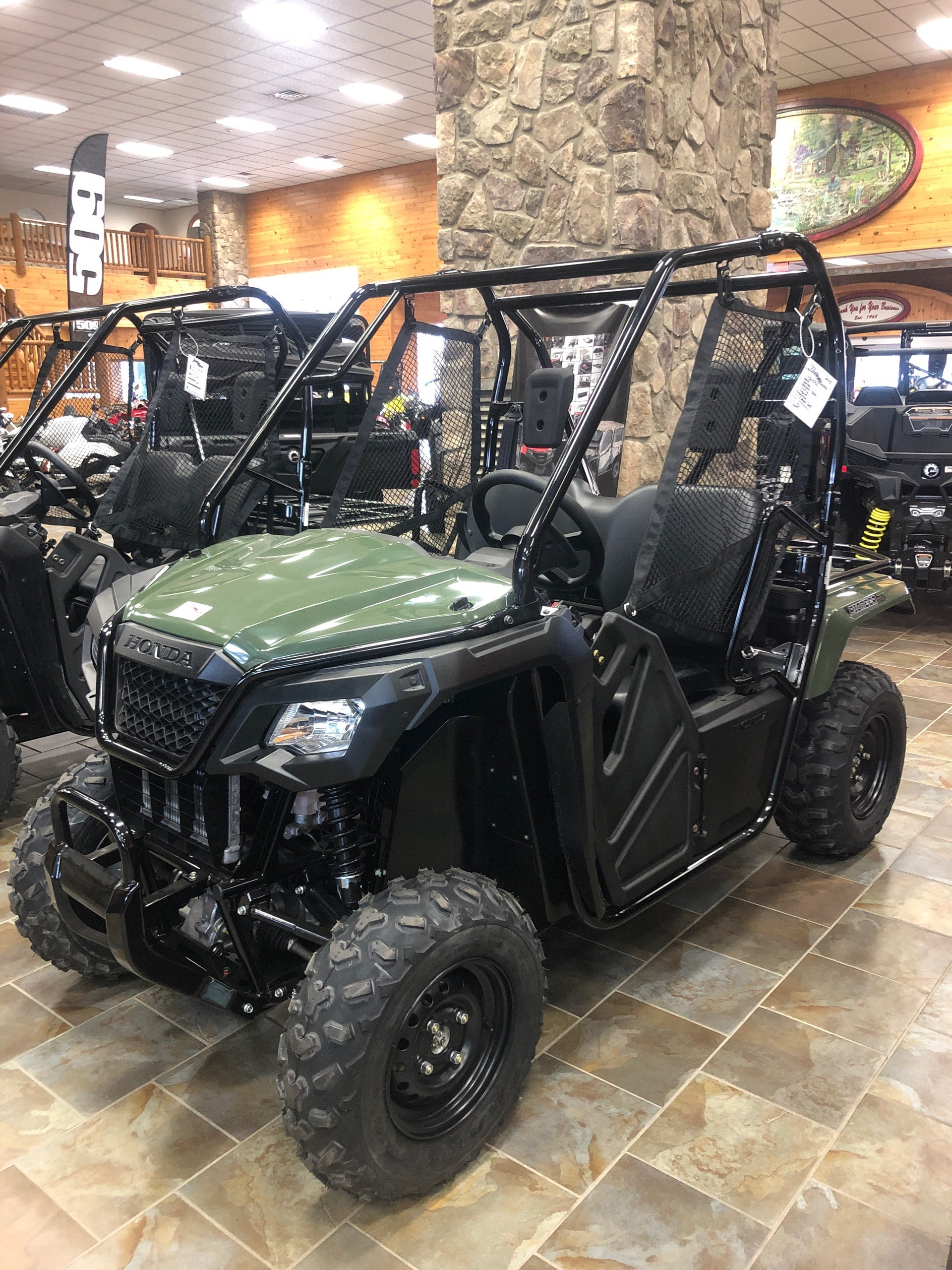 2018 Honda Pioneer 500 in Honesdale, Pennsylvania - Photo 1