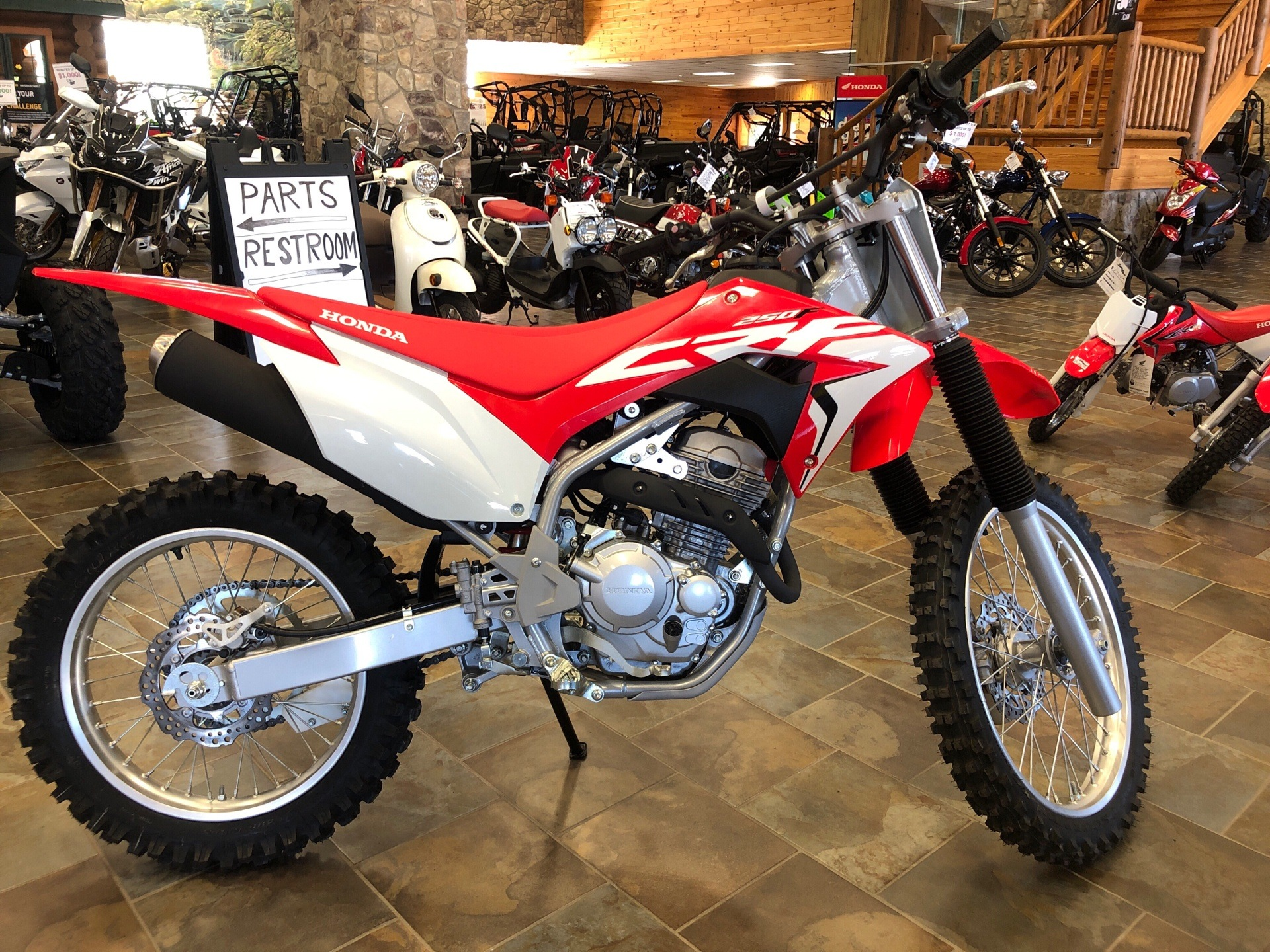 2020 Honda CRF250F in Honesdale, Pennsylvania - Photo 1