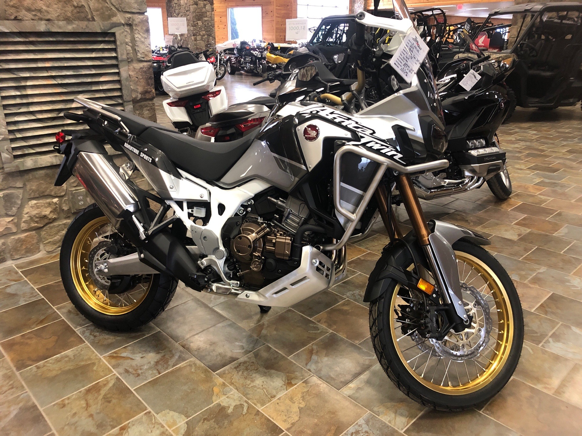 2019 Honda Africa Twin Adventure Sports DCT in Honesdale, Pennsylvania - Photo 1