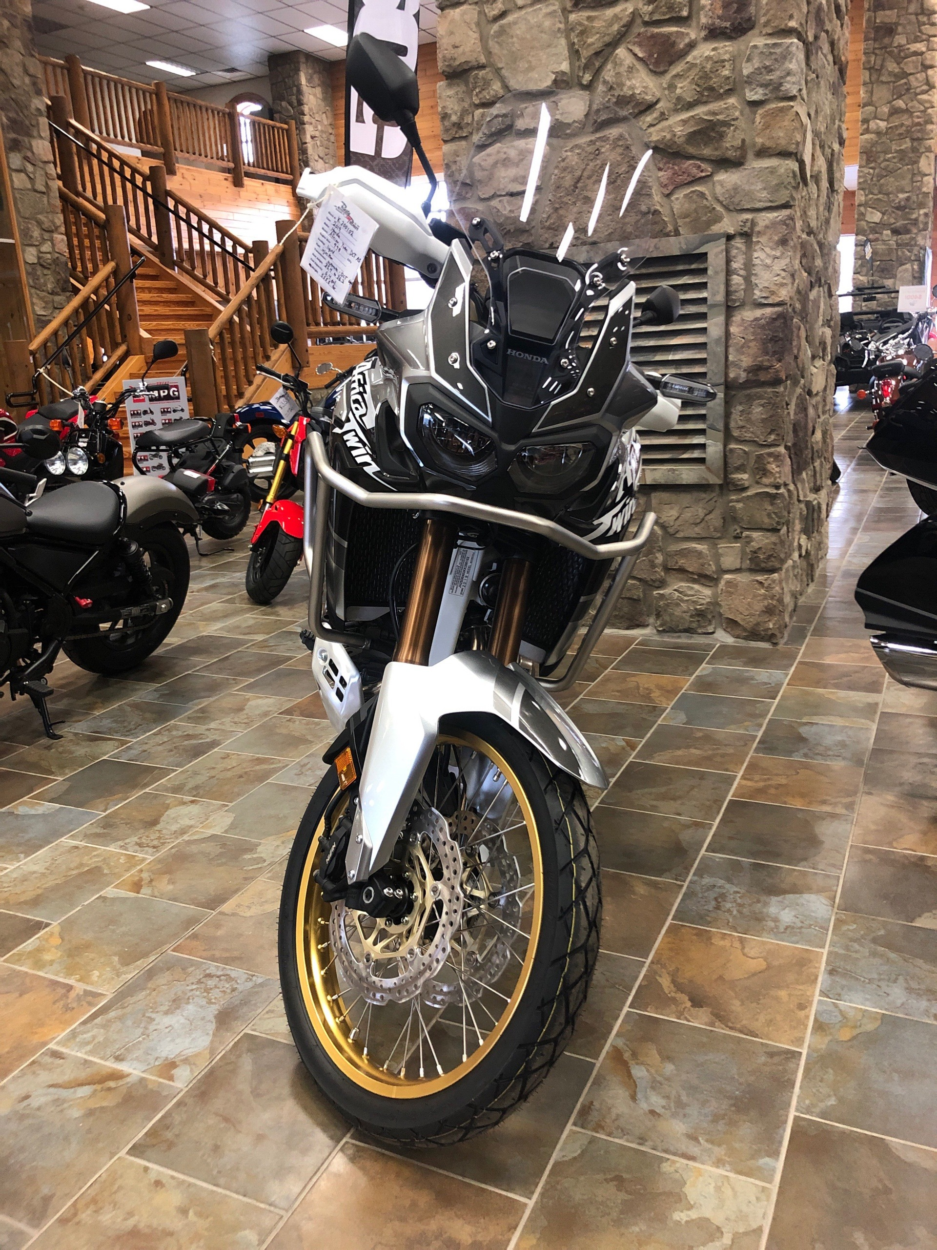 2019 Honda Africa Twin Adventure Sports DCT in Honesdale, Pennsylvania - Photo 2