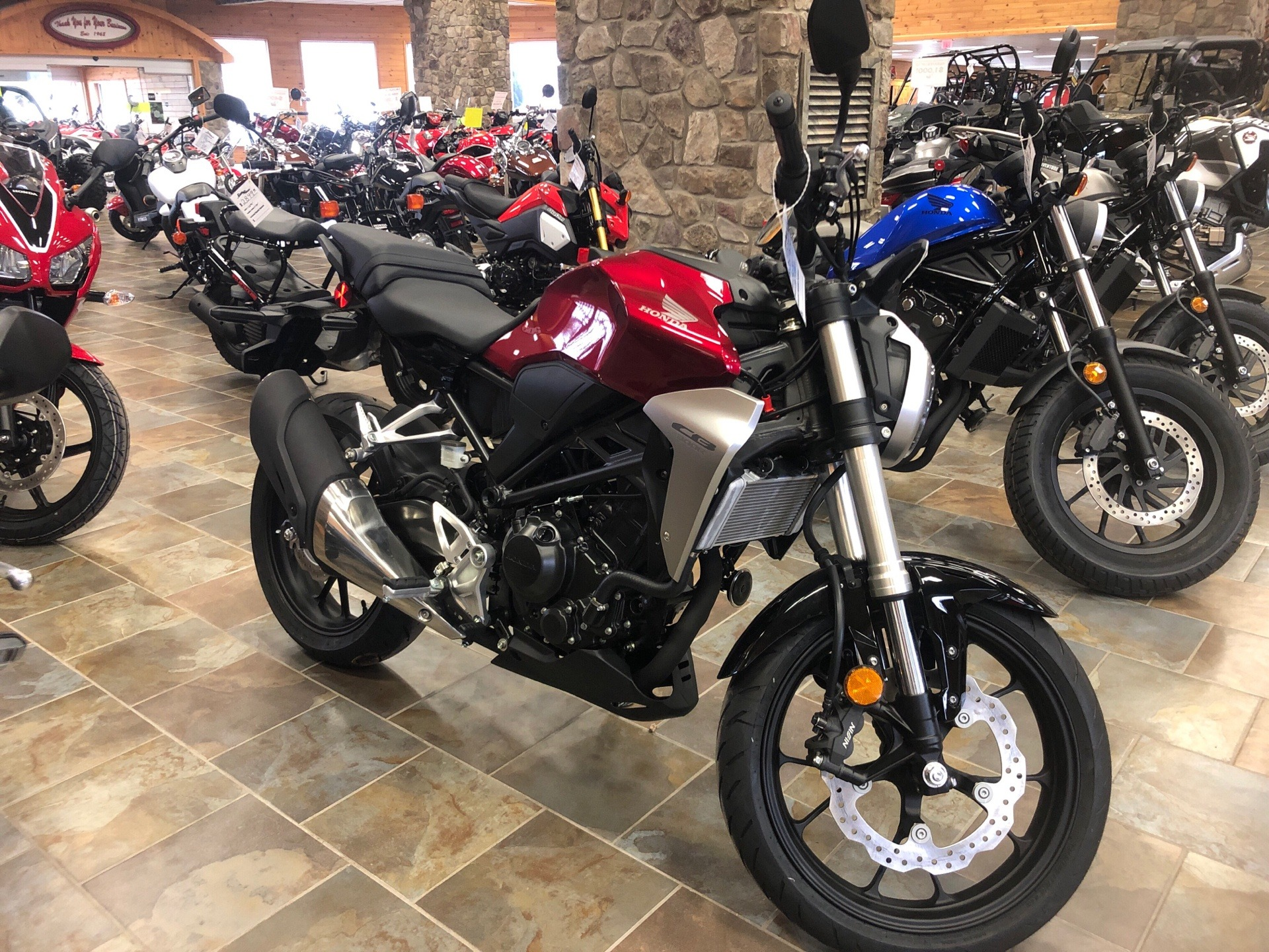 2019 Honda CB300R in Honesdale, Pennsylvania - Photo 1
