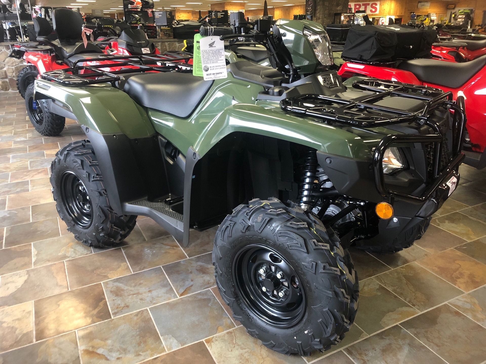 2019 Honda FourTrax Foreman Rubicon 4x4 Automatic DCT EPS in Honesdale, Pennsylvania - Photo 2
