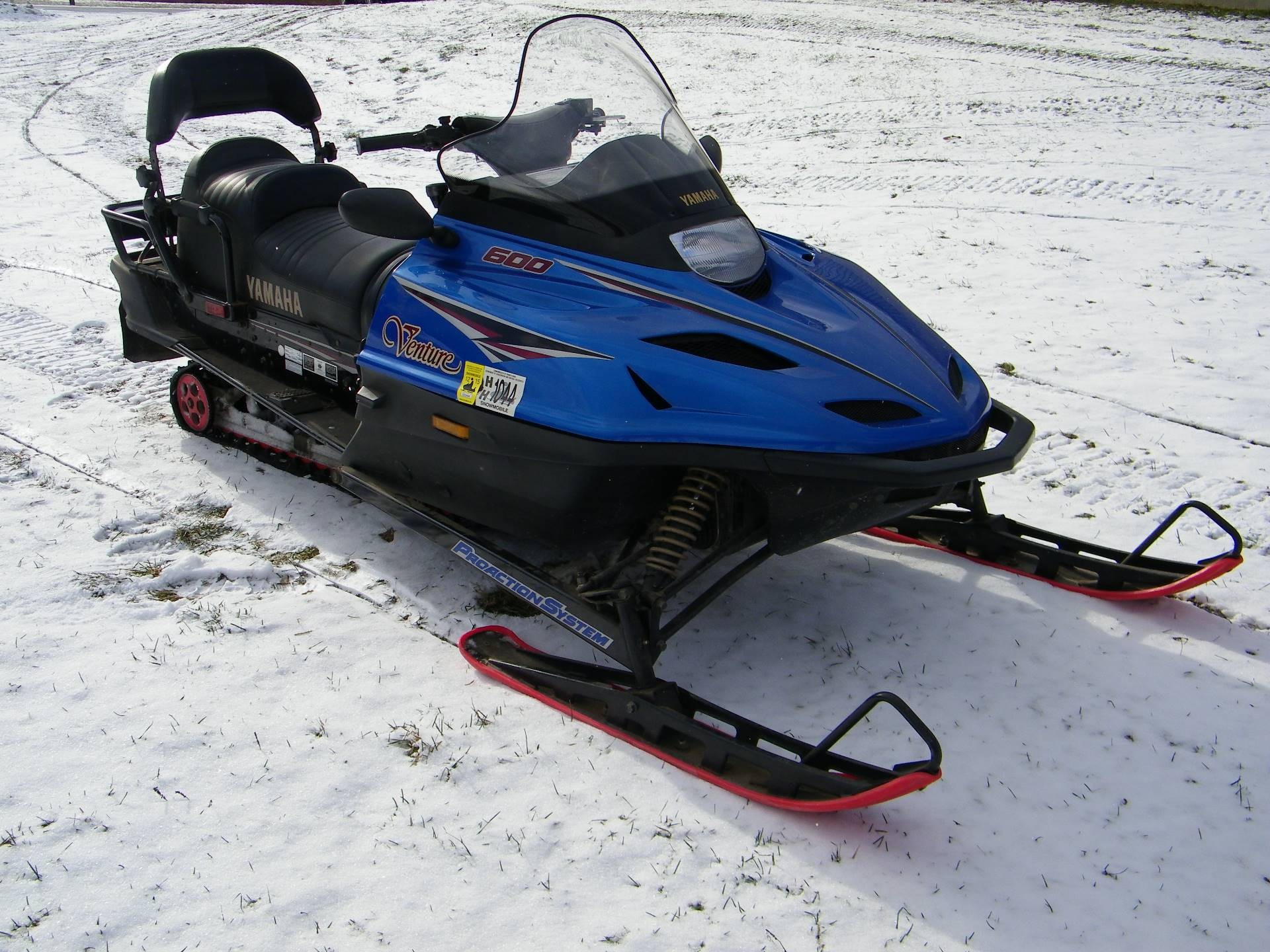1997 Yamaha VT 600 Venture in Galeton, Pennsylvania - Photo 1