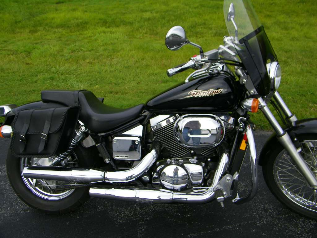used 2006 honda shadow spirit 750 motorcycles in galeton pa. Black Bedroom Furniture Sets. Home Design Ideas