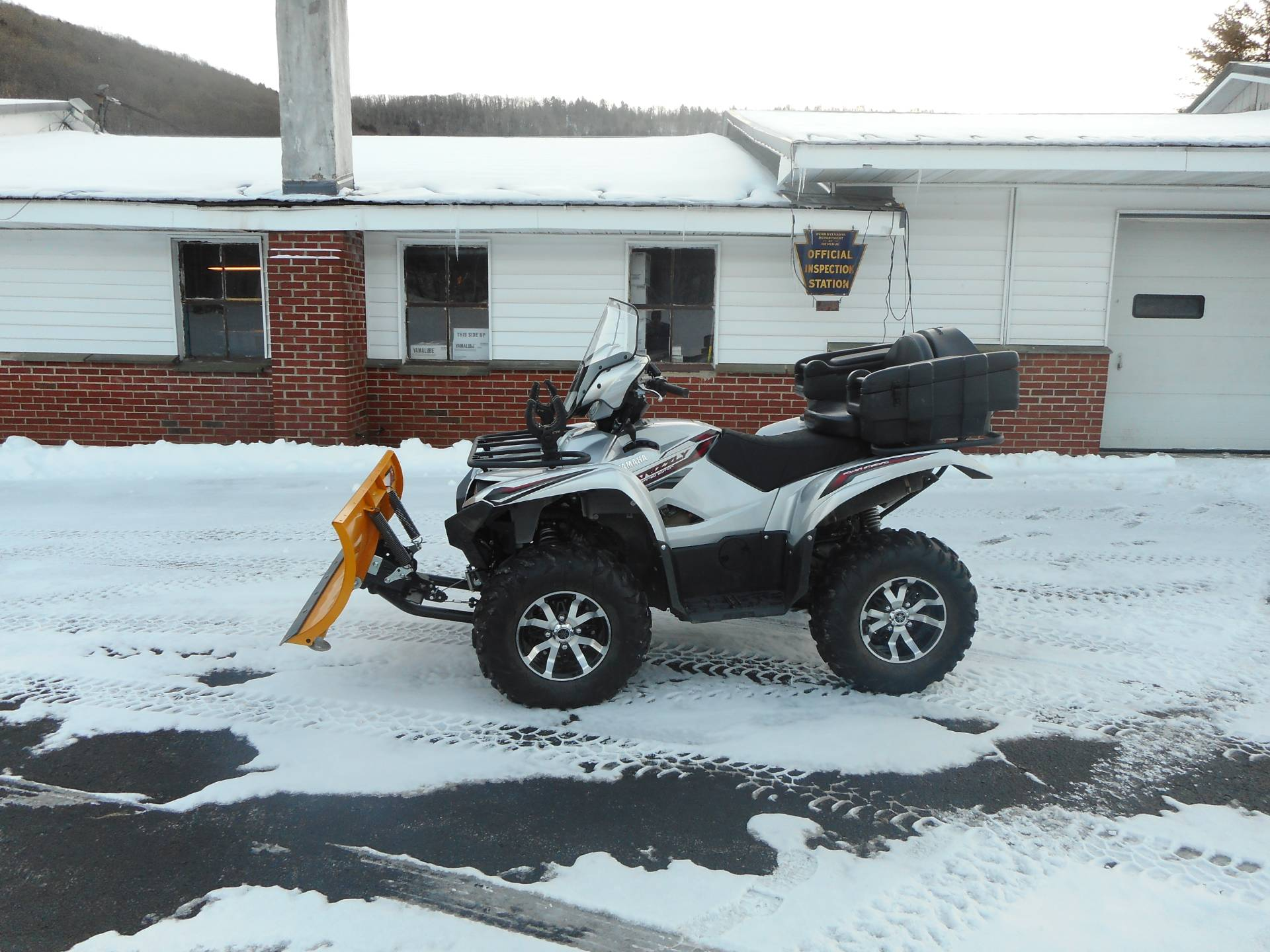 2018 Yamaha Grizzly EPS LE in Galeton, Pennsylvania - Photo 1