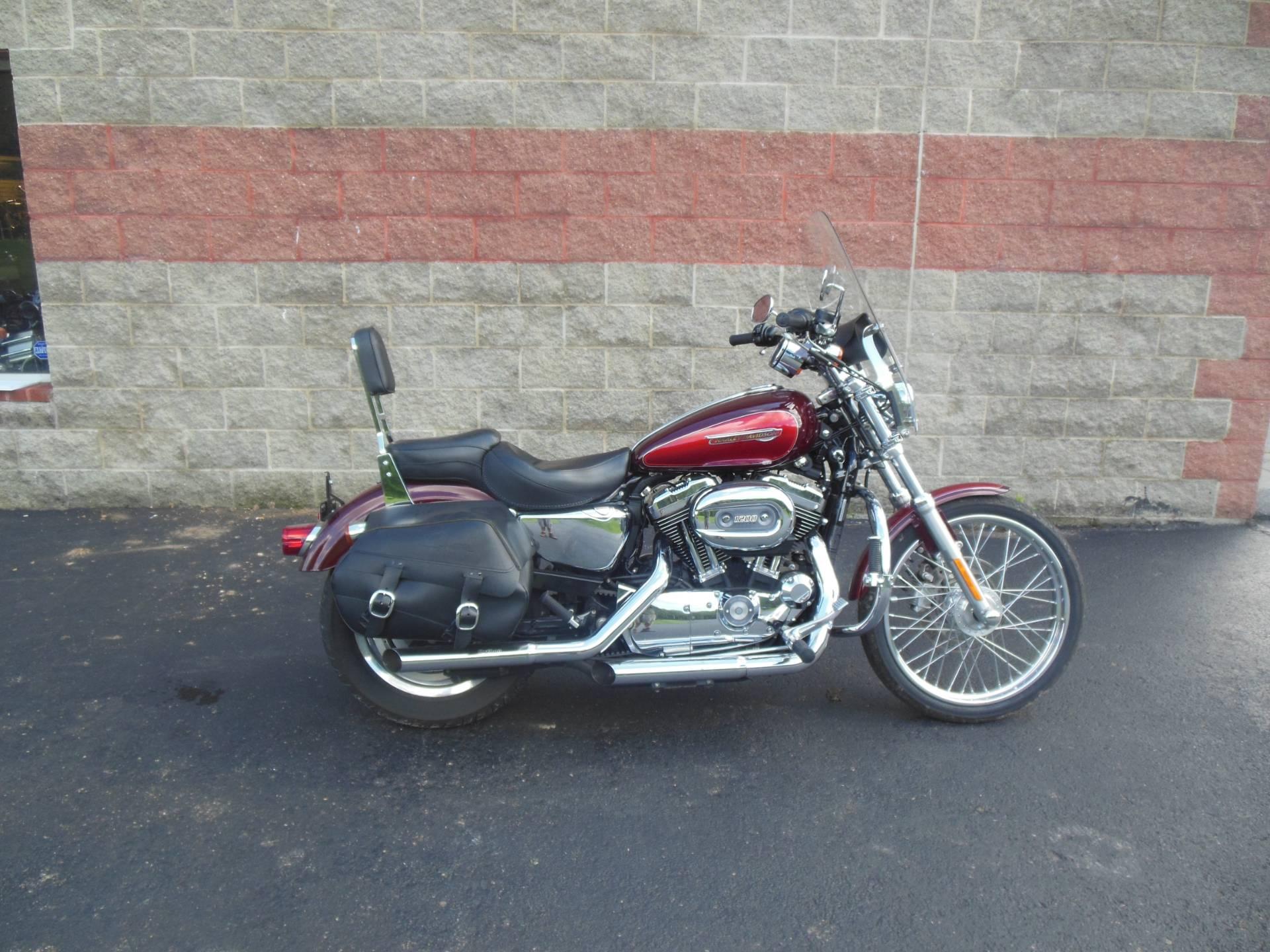 Used 2008 Harley-Davidson Sportster® 1200 Custom Motorcycles in ...