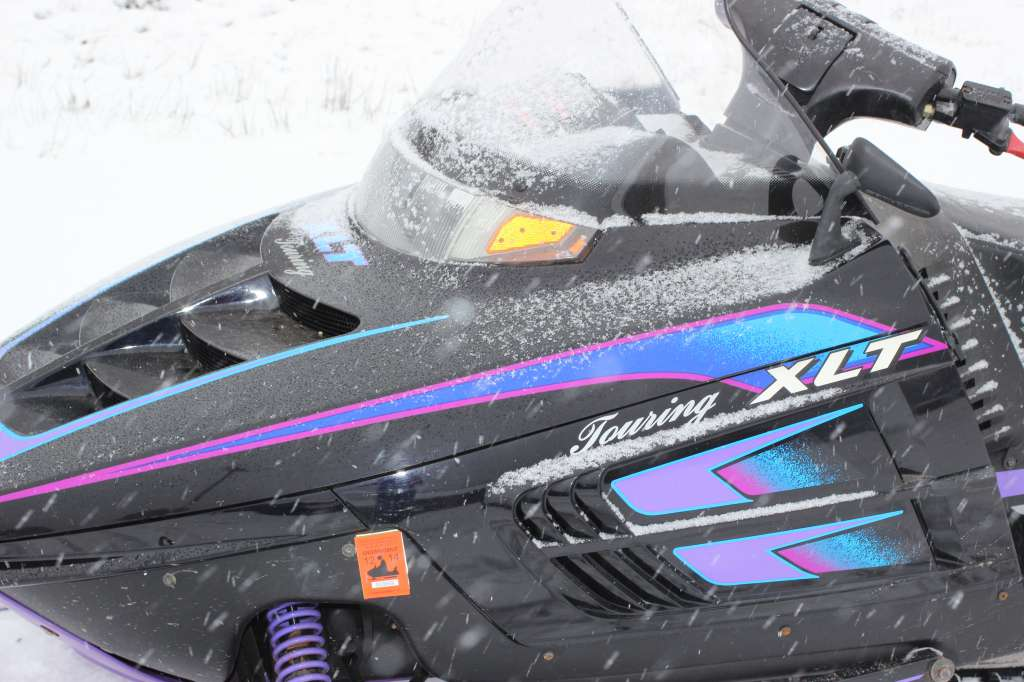 1995 Polaris xlt touring 600 in Galeton, Pennsylvania - Photo 2