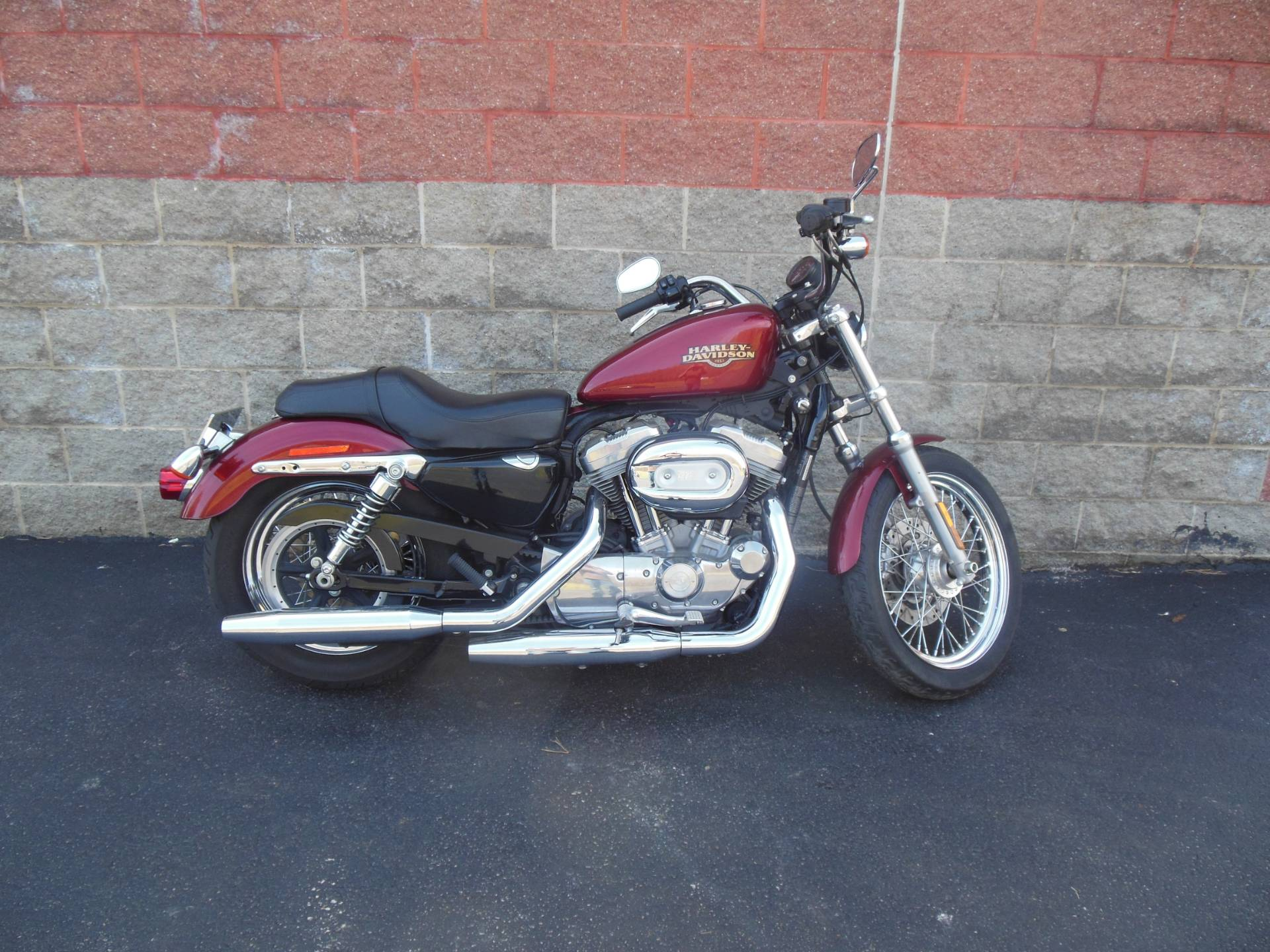 used 2009 harley davidson sportster 883 low motorcycles. Black Bedroom Furniture Sets. Home Design Ideas
