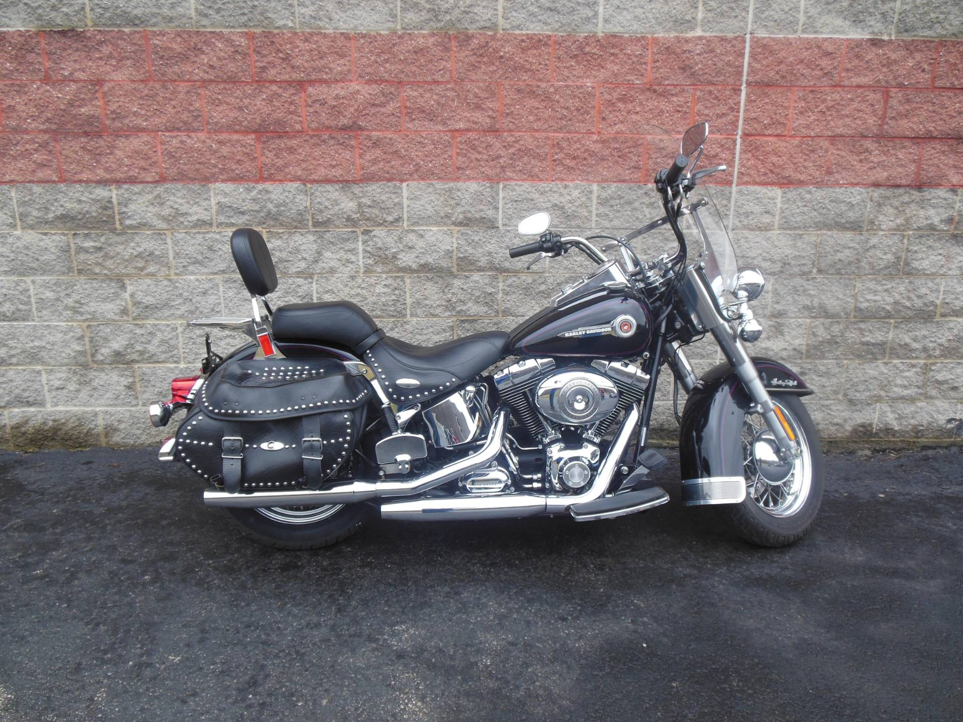 used 2007 harley davidson flstc heritage softail classic motorcycles in galeton pa. Black Bedroom Furniture Sets. Home Design Ideas