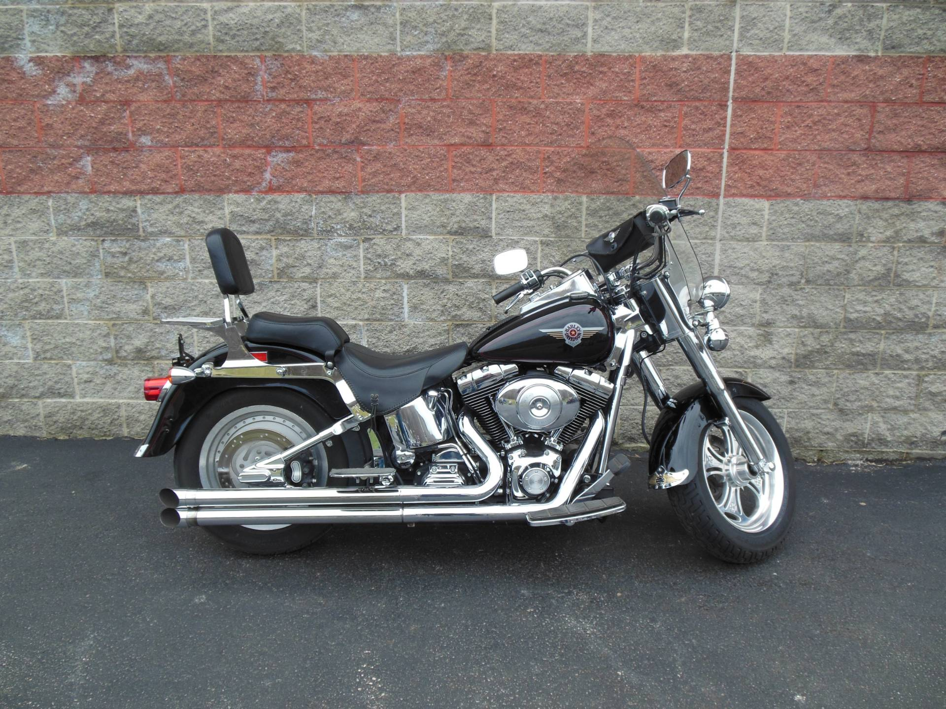 2002 Harley-Davidson FLSTF/FLSTFI Fat Boy® in Galeton, Pennsylvania - Photo 1