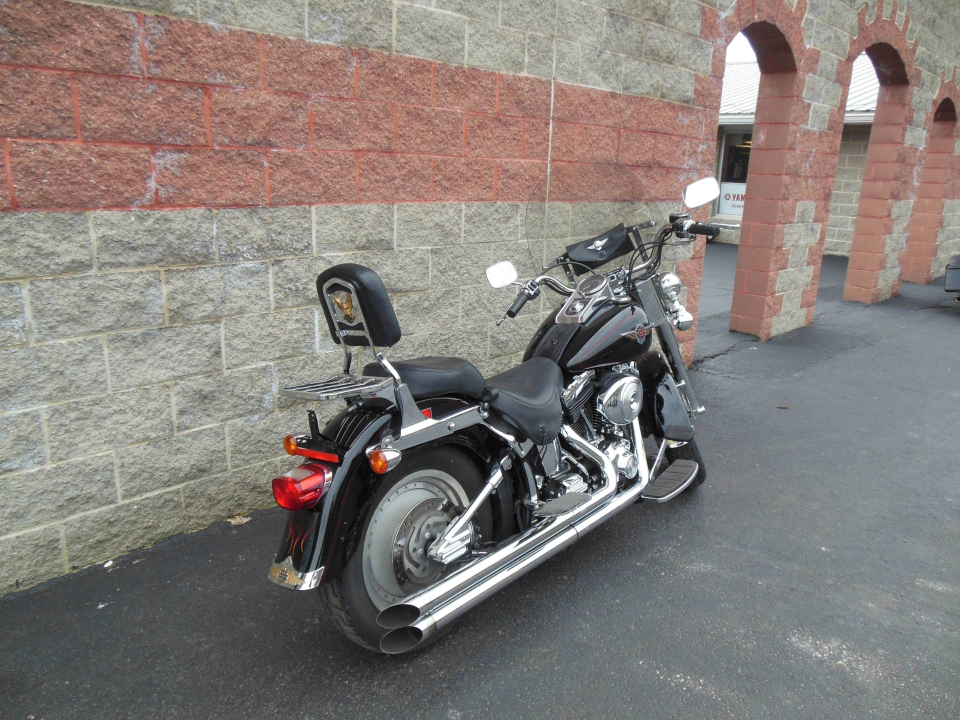 2002 Harley-Davidson FLSTF/FLSTFI Fat Boy® in Galeton, Pennsylvania