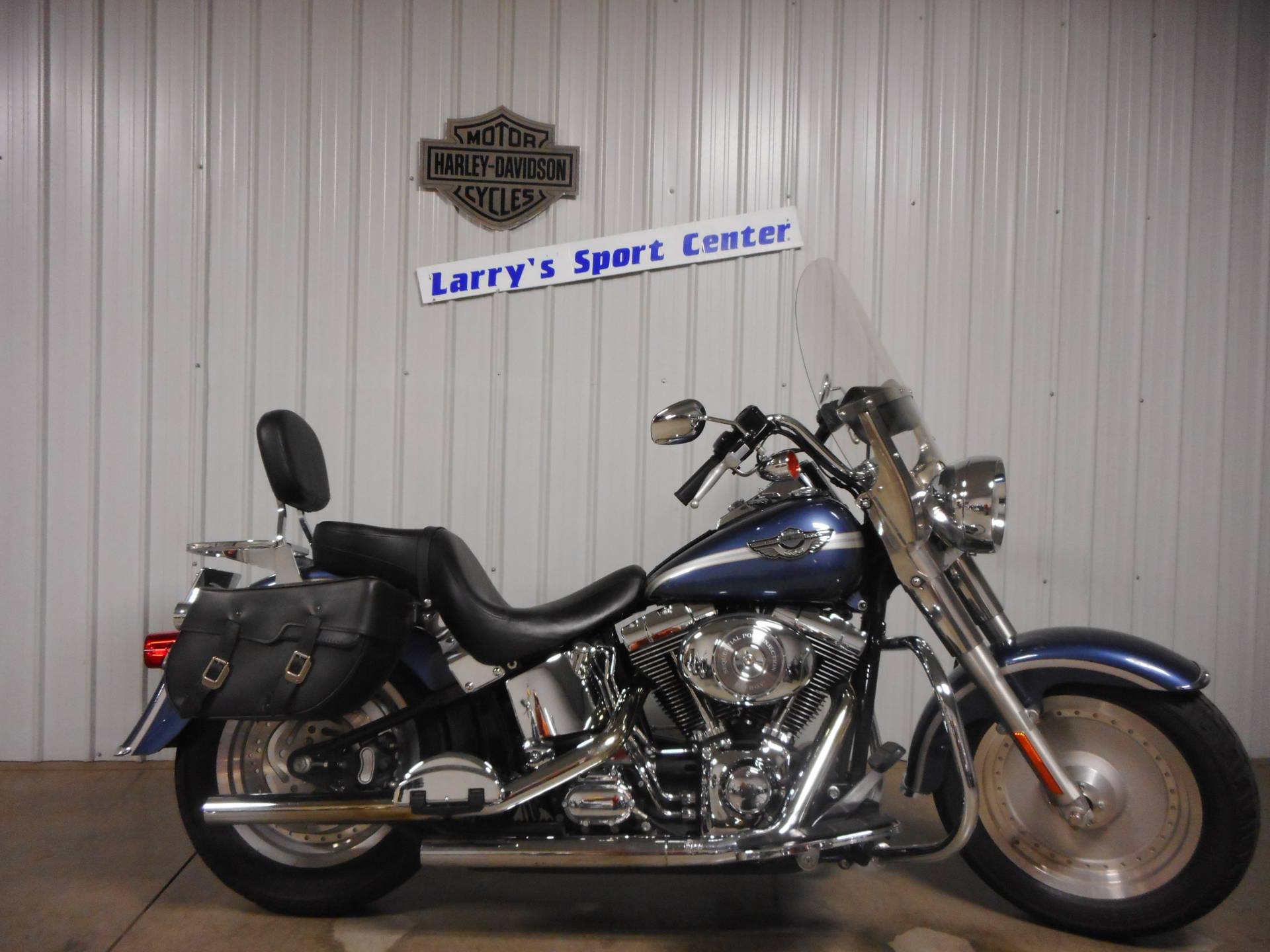 2003 Harley-Davidson FLSTF/FLSTFI Fat Boy® in Galeton, Pennsylvania - Photo 1