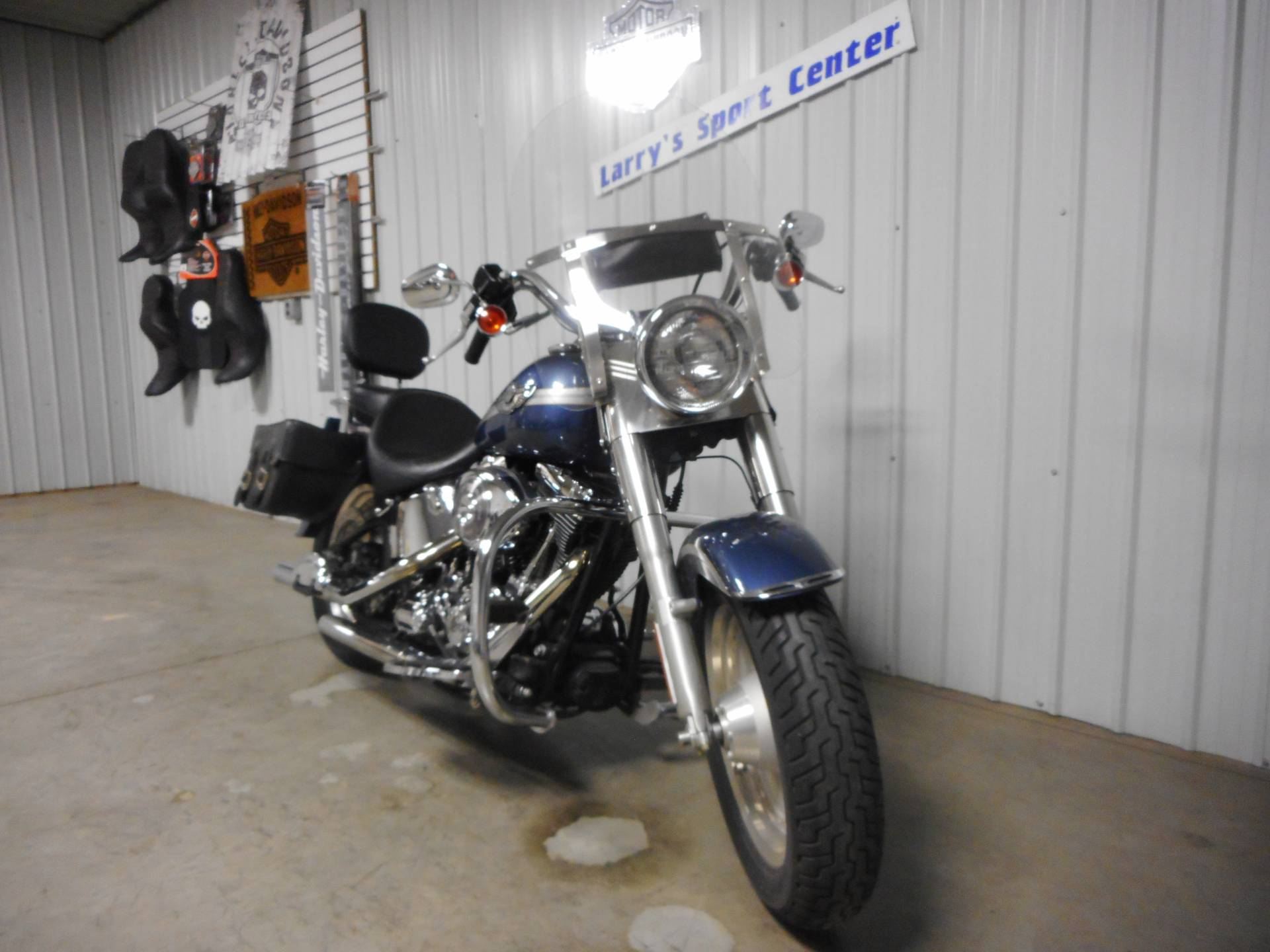 2003 Harley-Davidson FLSTF/FLSTFI Fat Boy® in Galeton, Pennsylvania - Photo 2