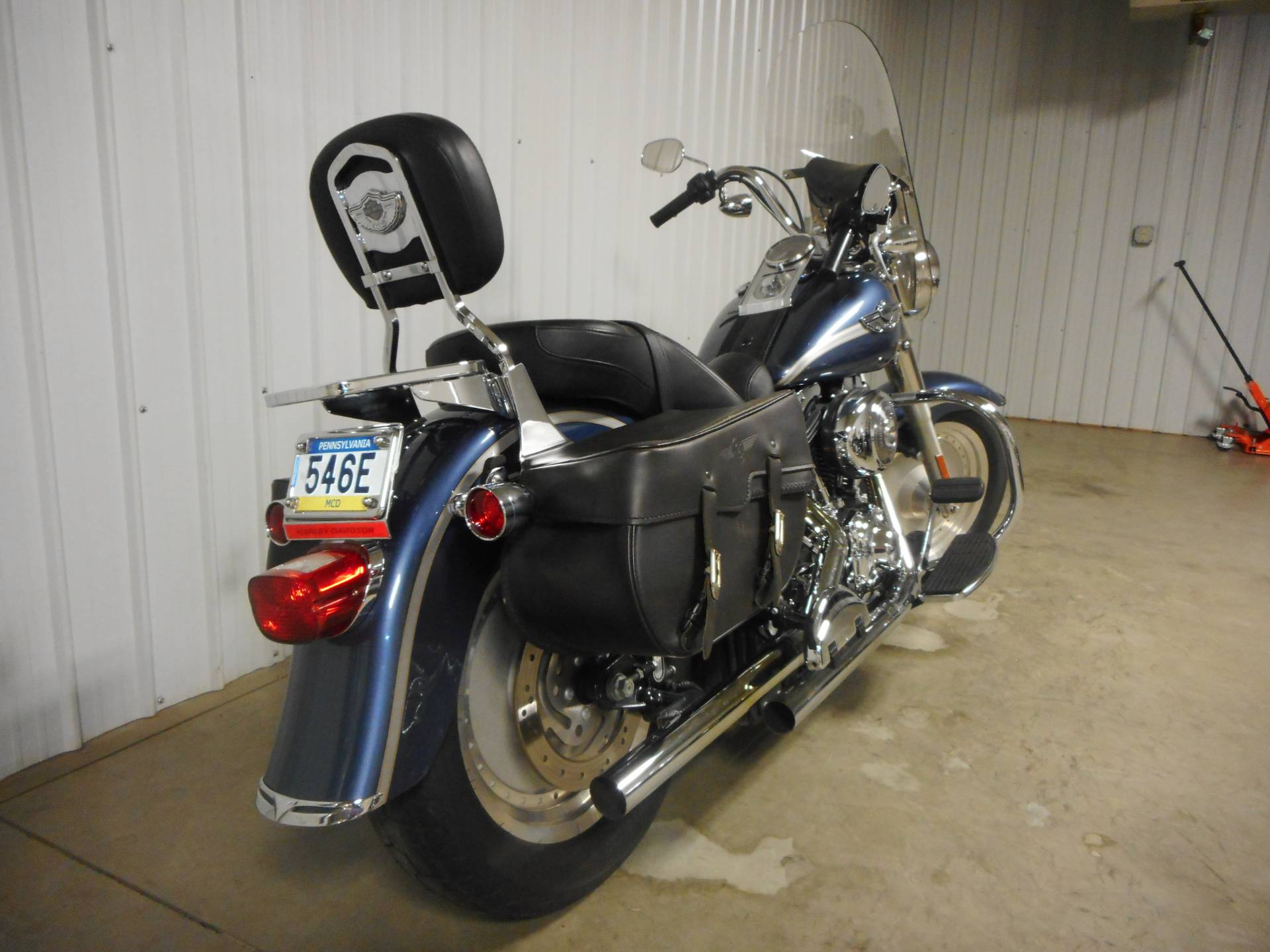 2003 Harley-Davidson FLSTF/FLSTFI Fat Boy® in Galeton, Pennsylvania - Photo 3