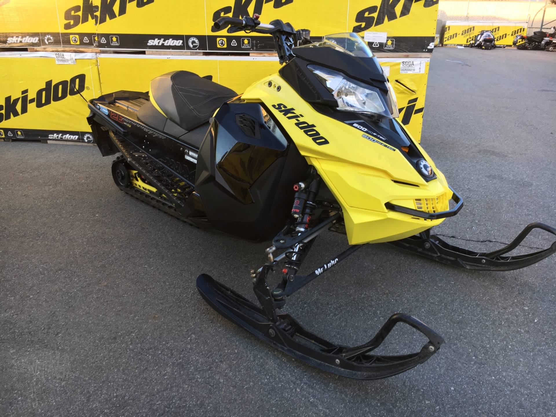 2015 MX Z Iron Dog 600 H.O. E-TEC