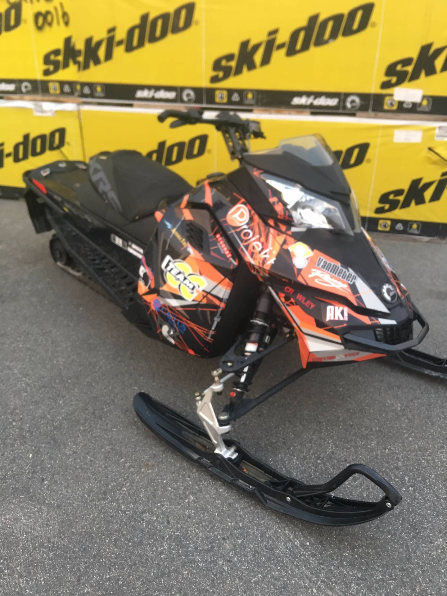 2016 Ski-Doo MX Z X-RS 600H.O. E-TEC,  Ripsaw in Wasilla, Alaska - Photo 1