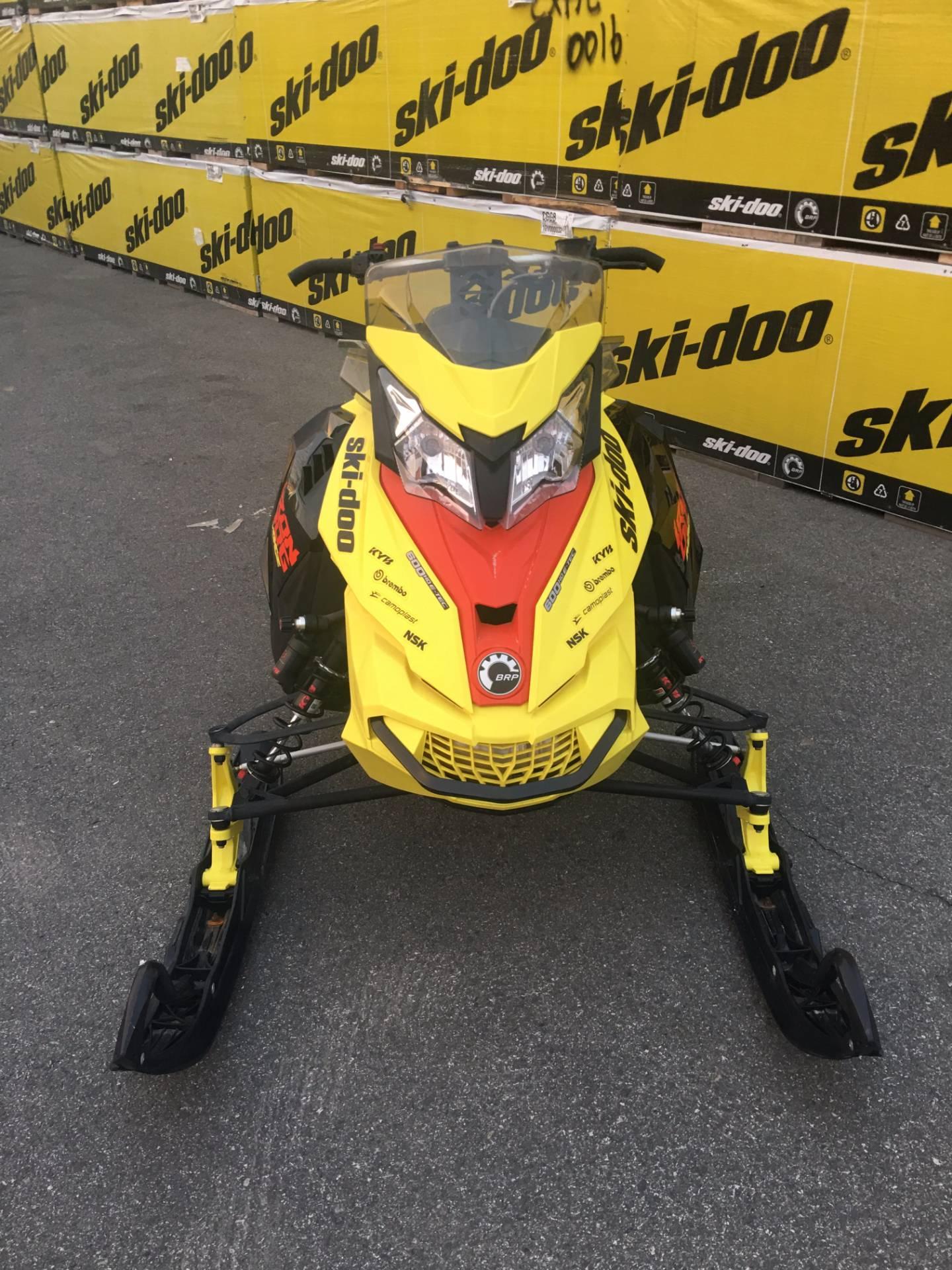 2015 Ski-Doo MX Z X-RS 600 H.O. E-TEC E.S., Ice Ripper XT in Wasilla, Alaska