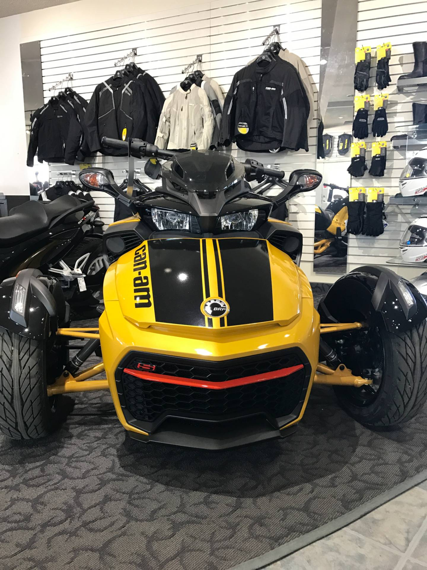 2017 Can-Am Spyder F3-S Daytona 500 SE6 in Wasilla, Alaska
