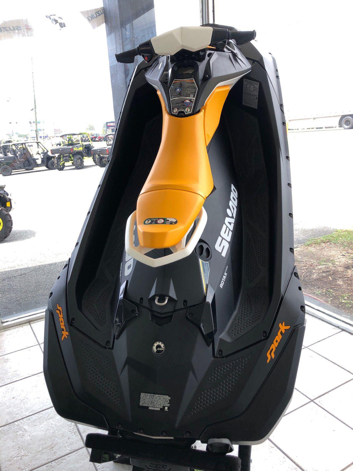 2020 Sea-Doo Spark 2up 90 hp iBR + Convenience Package in Tifton, Georgia - Photo 3