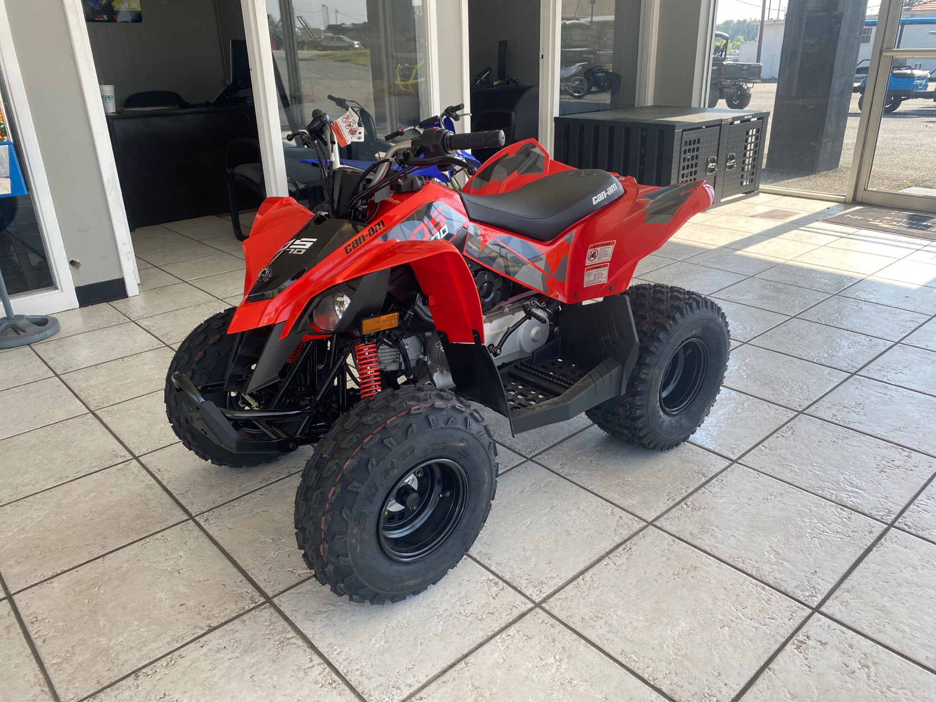 2021 Can-Am DS 70 in Tifton, Georgia - Photo 1