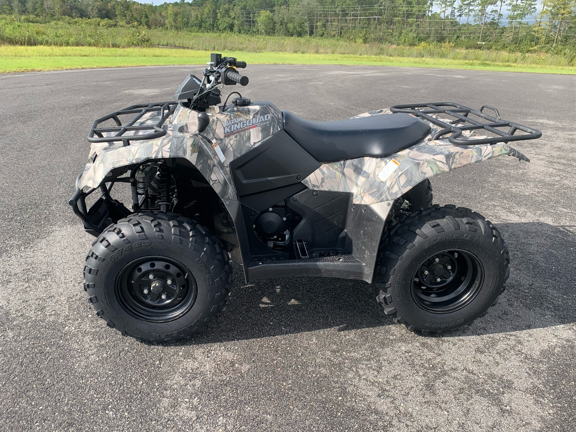 2019 Suzuki KingQuad 400FSi Camo in Valdosta, Georgia - Photo 3