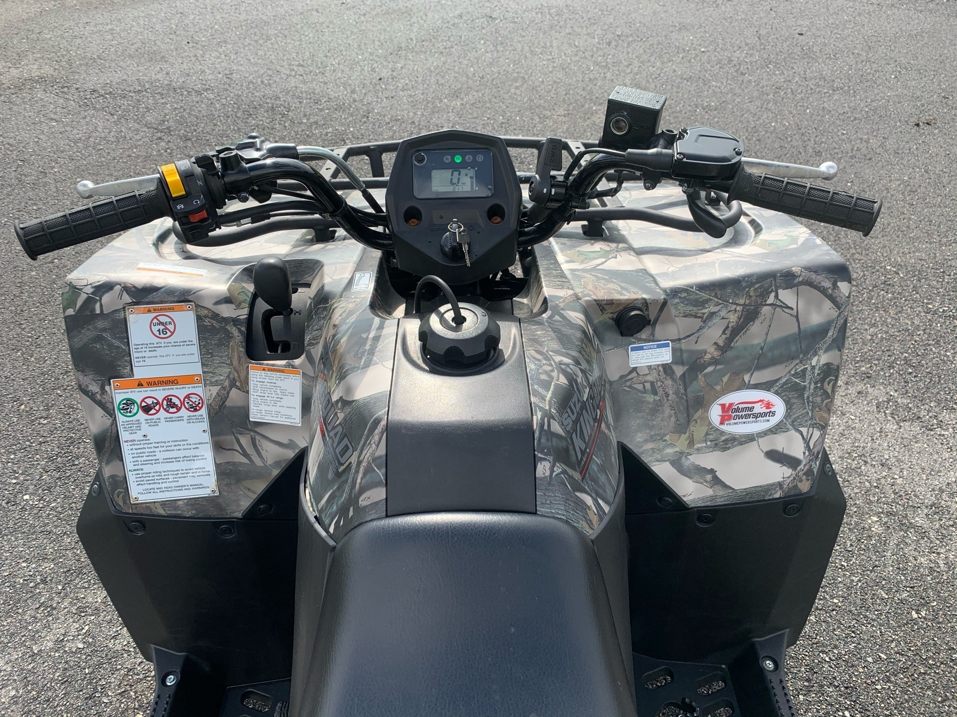 2019 Suzuki KingQuad 400FSi Camo in Valdosta, Georgia - Photo 7