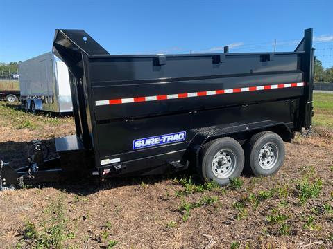2020 Sure-Trac 82IN X 12LP 14K SCISSOR DUMP 4FT SIDE in Valdosta, Georgia - Photo 1