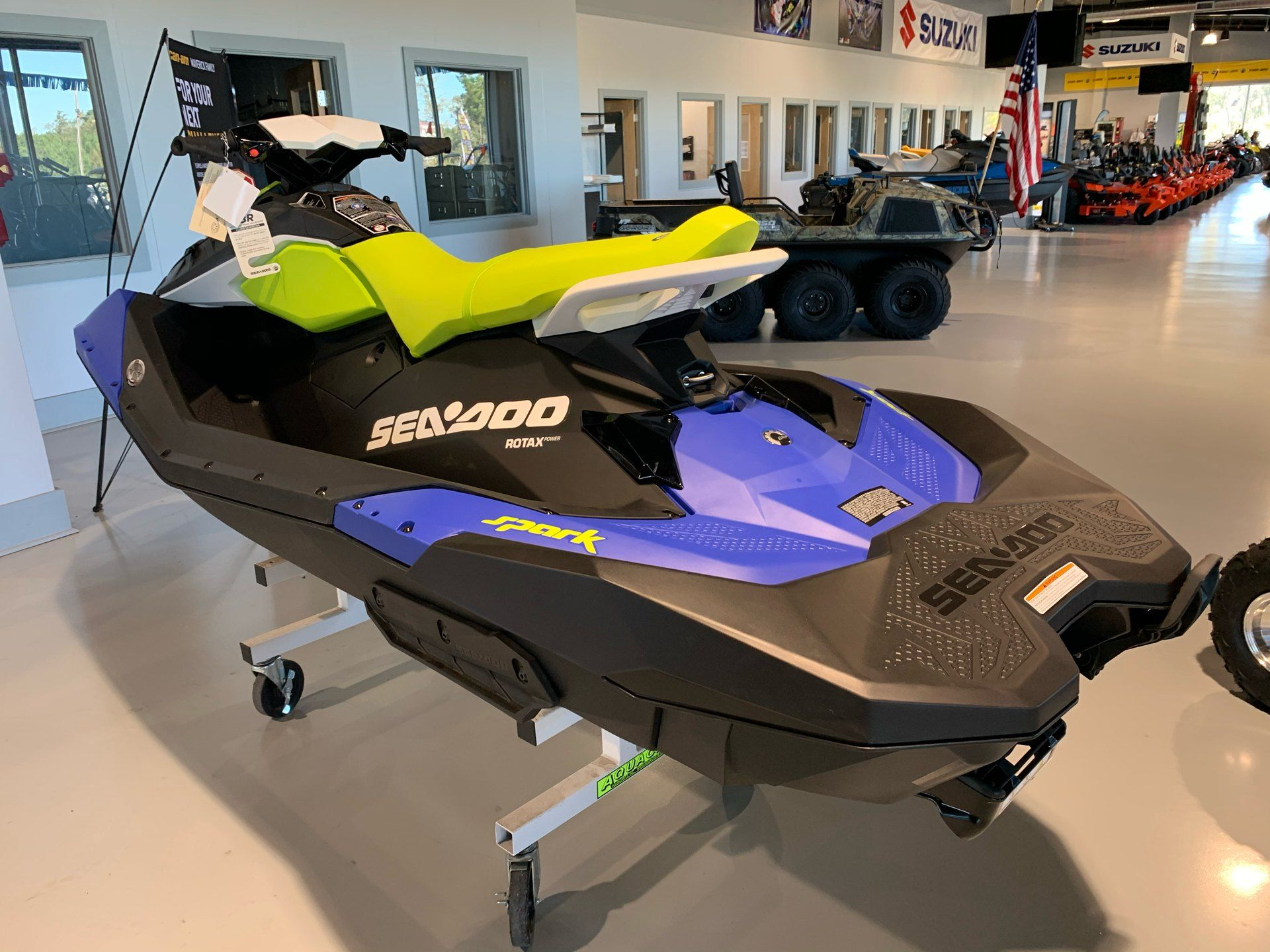 2021 Sea-Doo Spark 3up 90 hp iBR + Convenience Package in Valdosta, Georgia - Photo 7