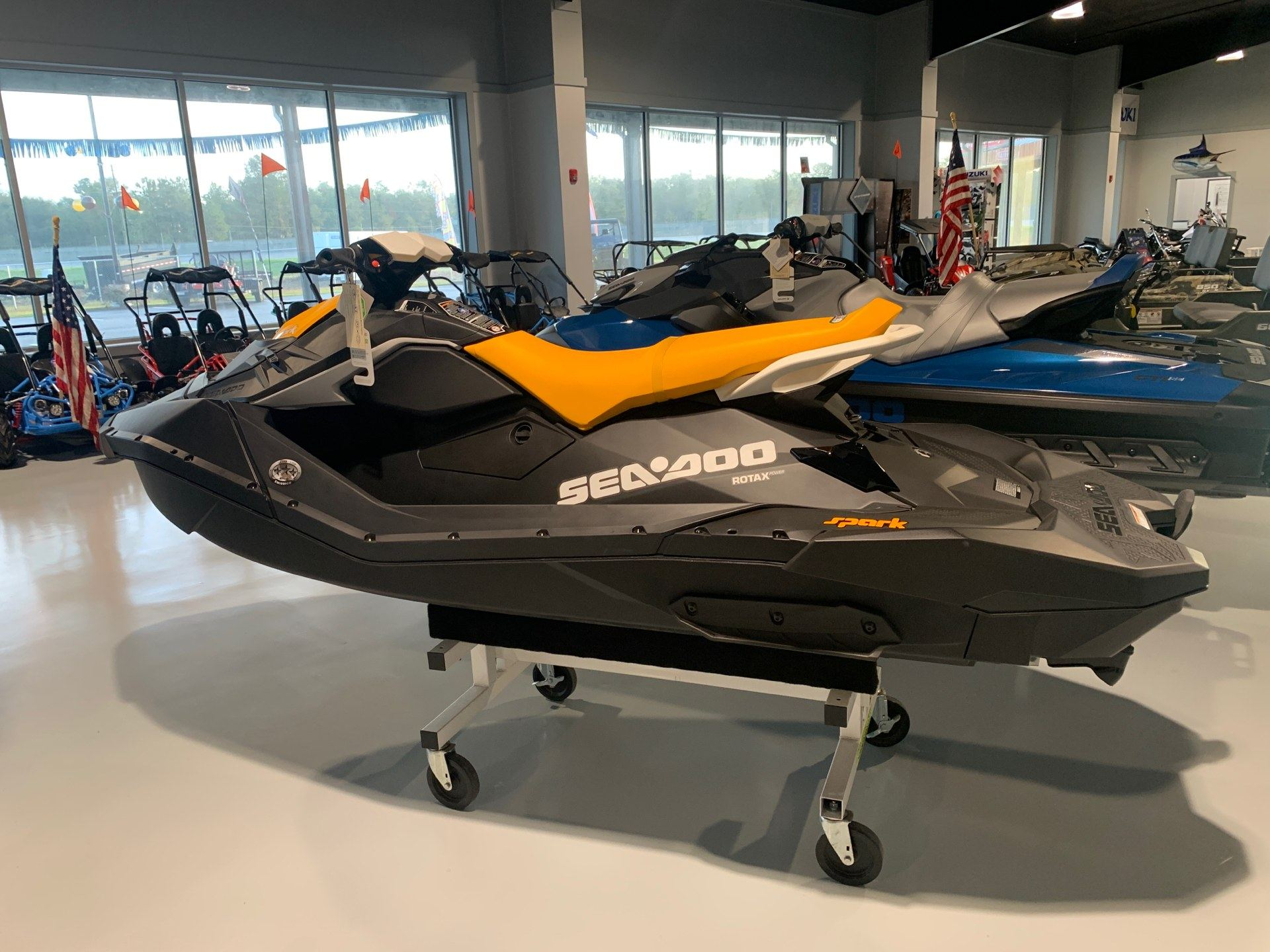 2021 Sea-Doo Spark 3up 90 hp iBR + Convenience Package in Valdosta, Georgia - Photo 1