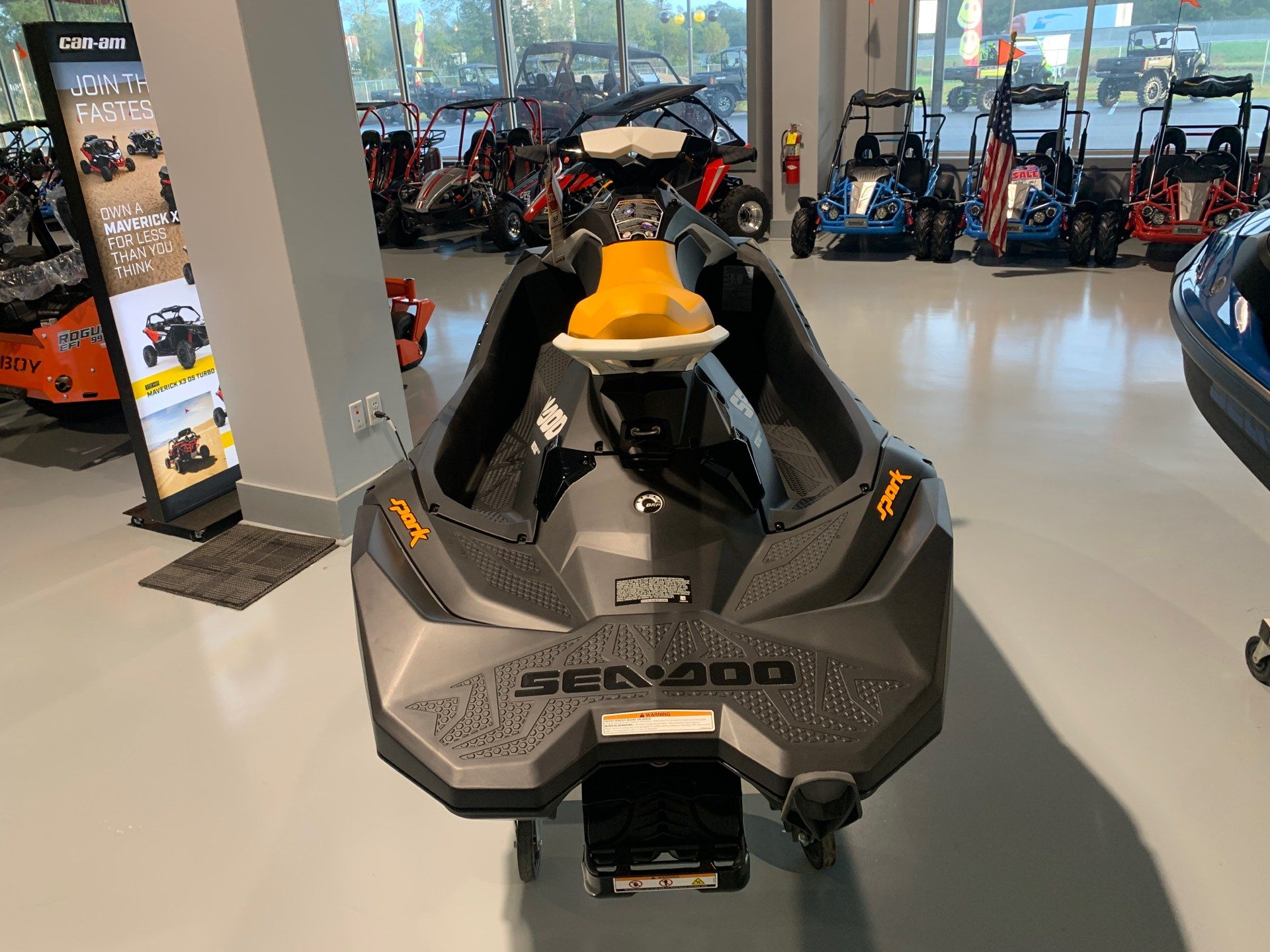 2021 Sea-Doo Spark 3up 90 hp iBR + Convenience Package in Valdosta, Georgia - Photo 3