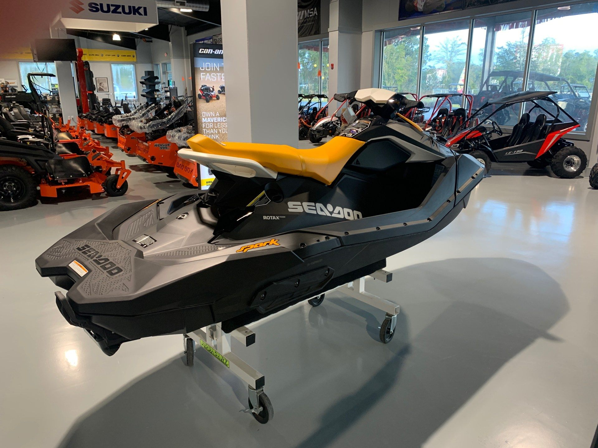 2021 Sea-Doo Spark 3up 90 hp iBR + Convenience Package in Valdosta, Georgia - Photo 4