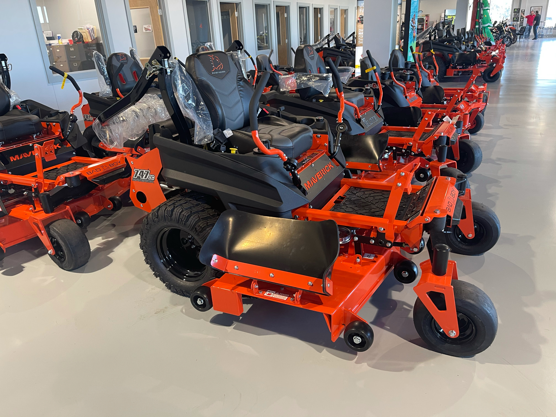 2021 Bad Boy Mowers Maverick 60 in. Kohler Confidant 747 cc in Valdosta, Georgia - Photo 6