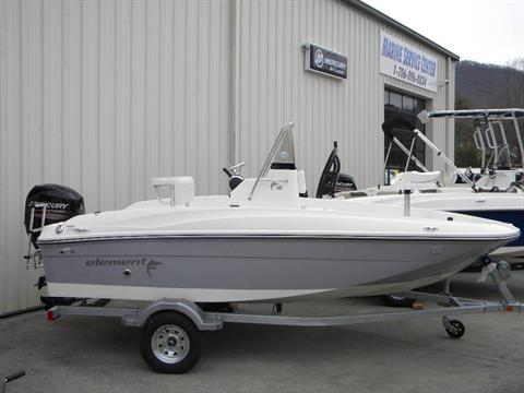 2017 Bayliner Element F16 in Young Harris, Georgia