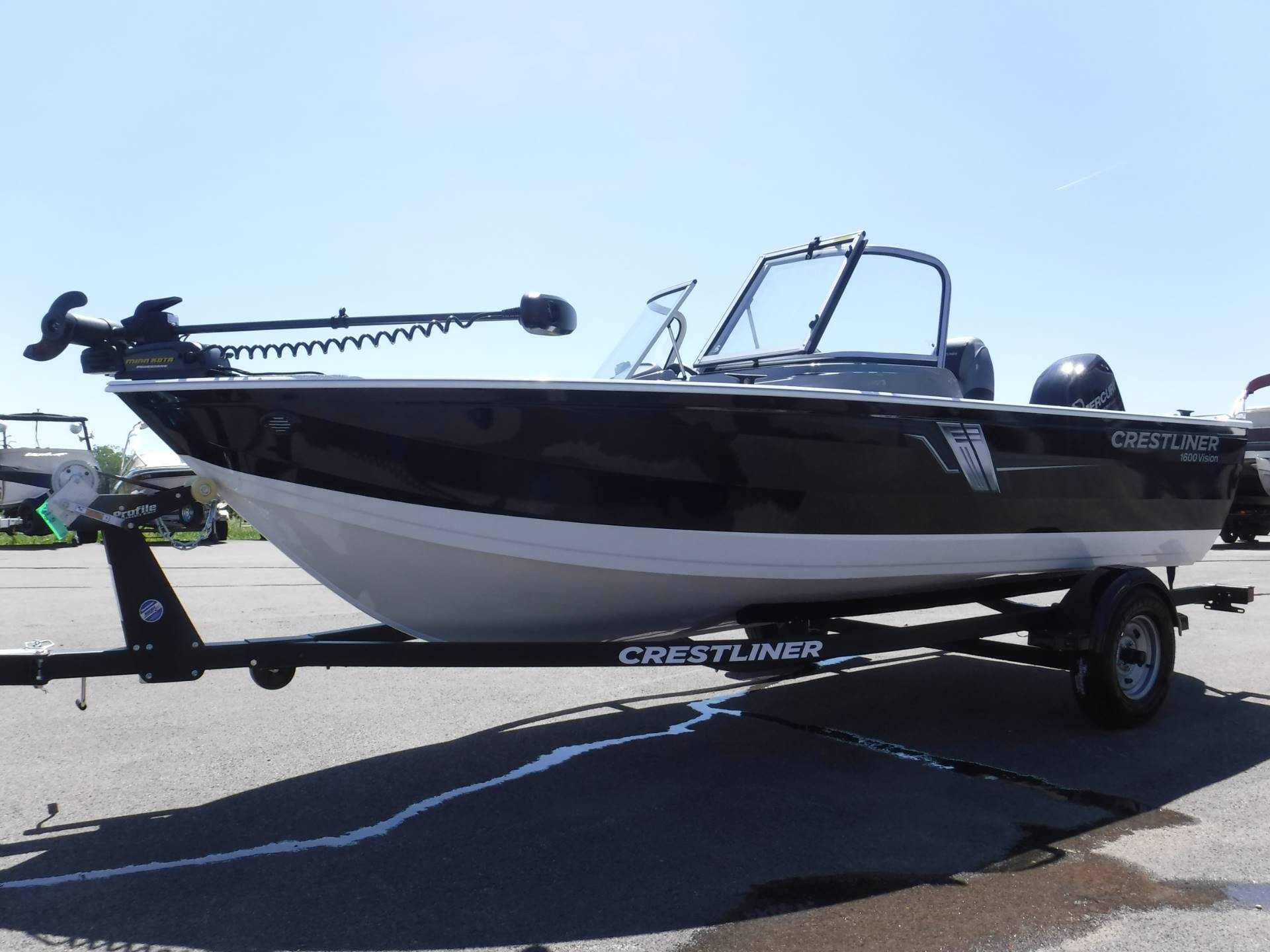 2019 Crestliner 1600 Vision in Spearfish, South Dakota - Photo 1