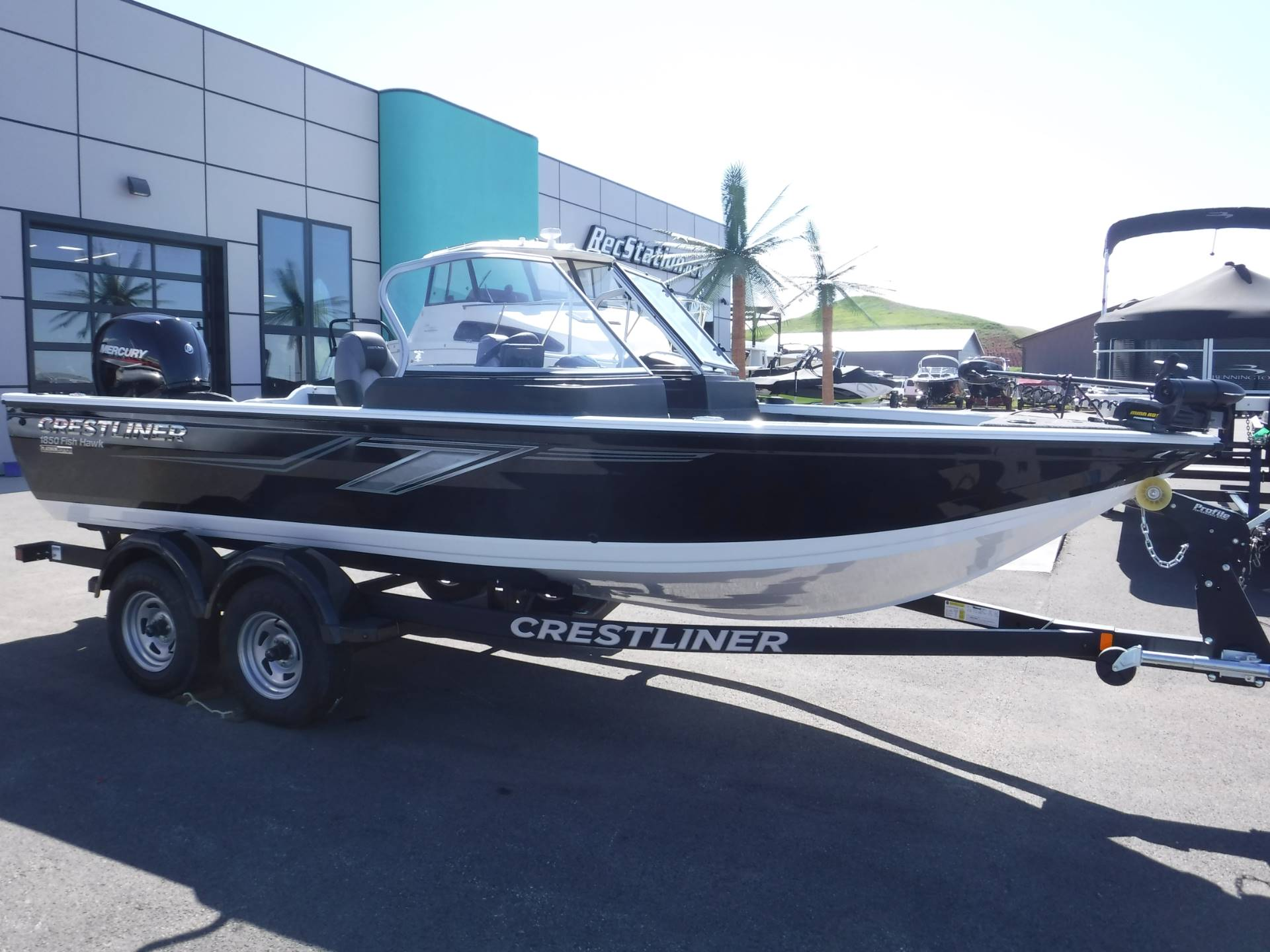 2019 Crestliner 1850 Fish Hawk WT in Spearfish, South Dakota - Photo 1