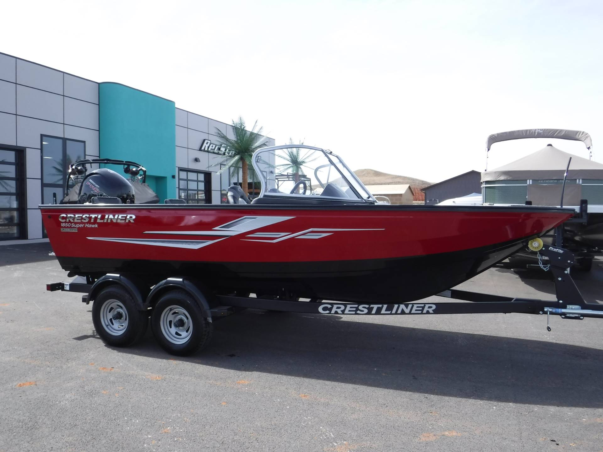 2019 Crestliner 1850 Super Hawk in Spearfish, South Dakota - Photo 1