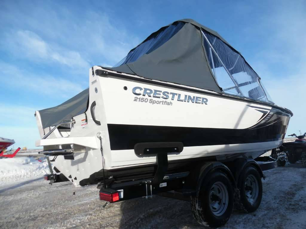 2017 Crestliner 2150 Sportfish SST in Spearfish, South Dakota