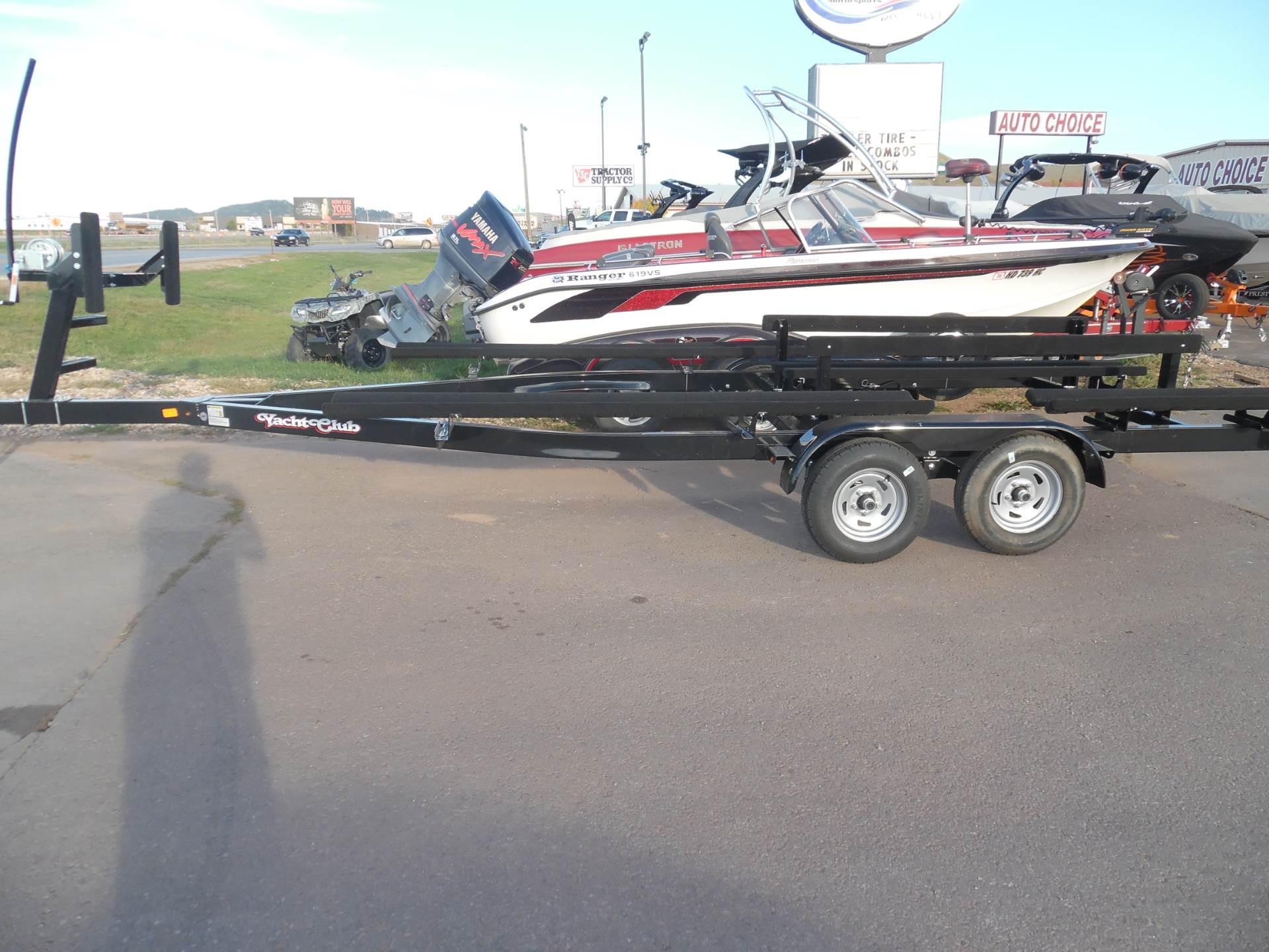 1900 Yacht Club Tandem Axle Pontoon Trailers for 18'-28' pontoons and tri-toons- in stock! in Spearfish, South Dakota - Photo 3