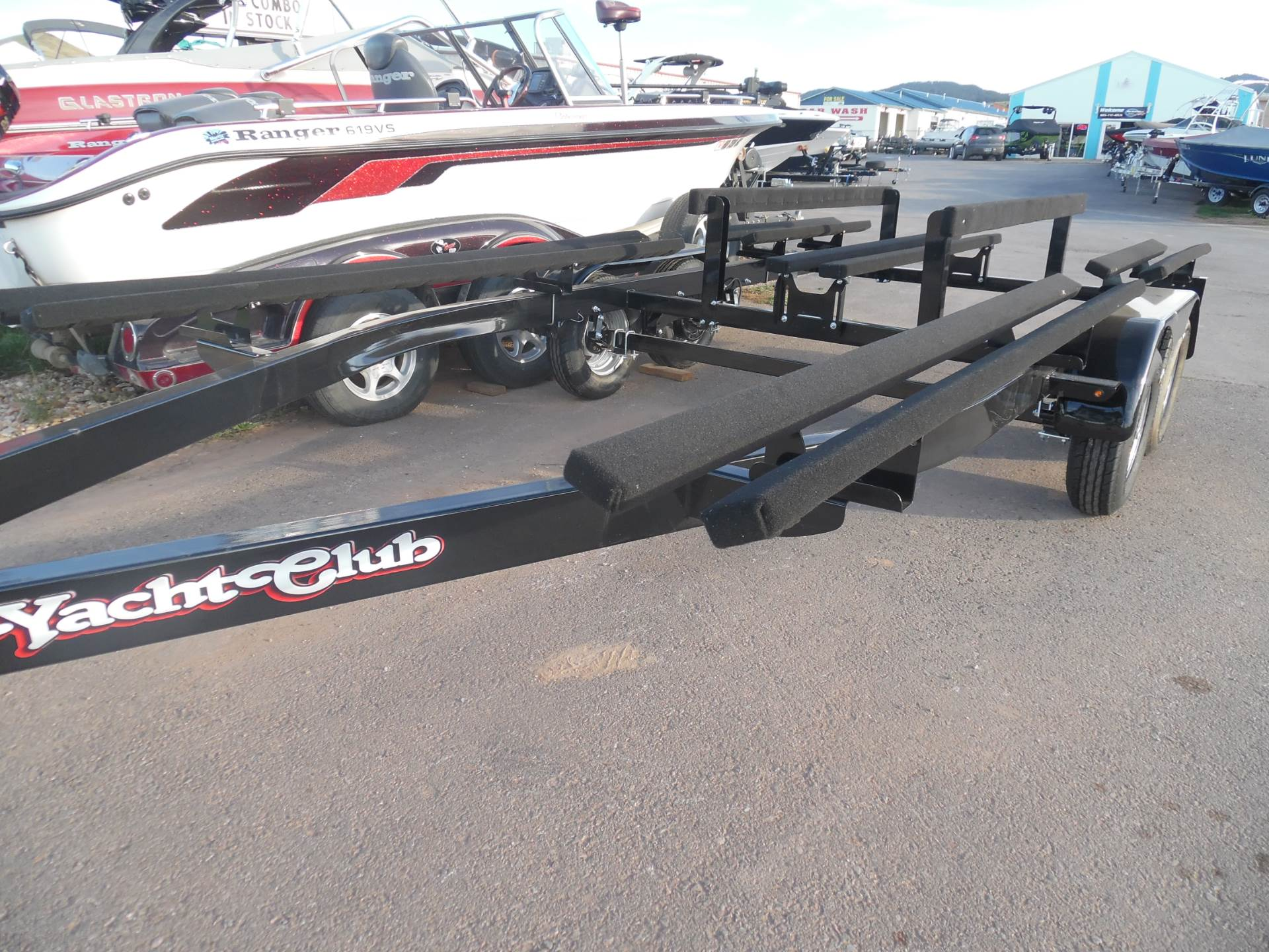 1900 Yacht Club Tandem Axle Pontoon Trailers for 18'-28' pontoons and tri-toons- in stock! in Spearfish, South Dakota - Photo 2