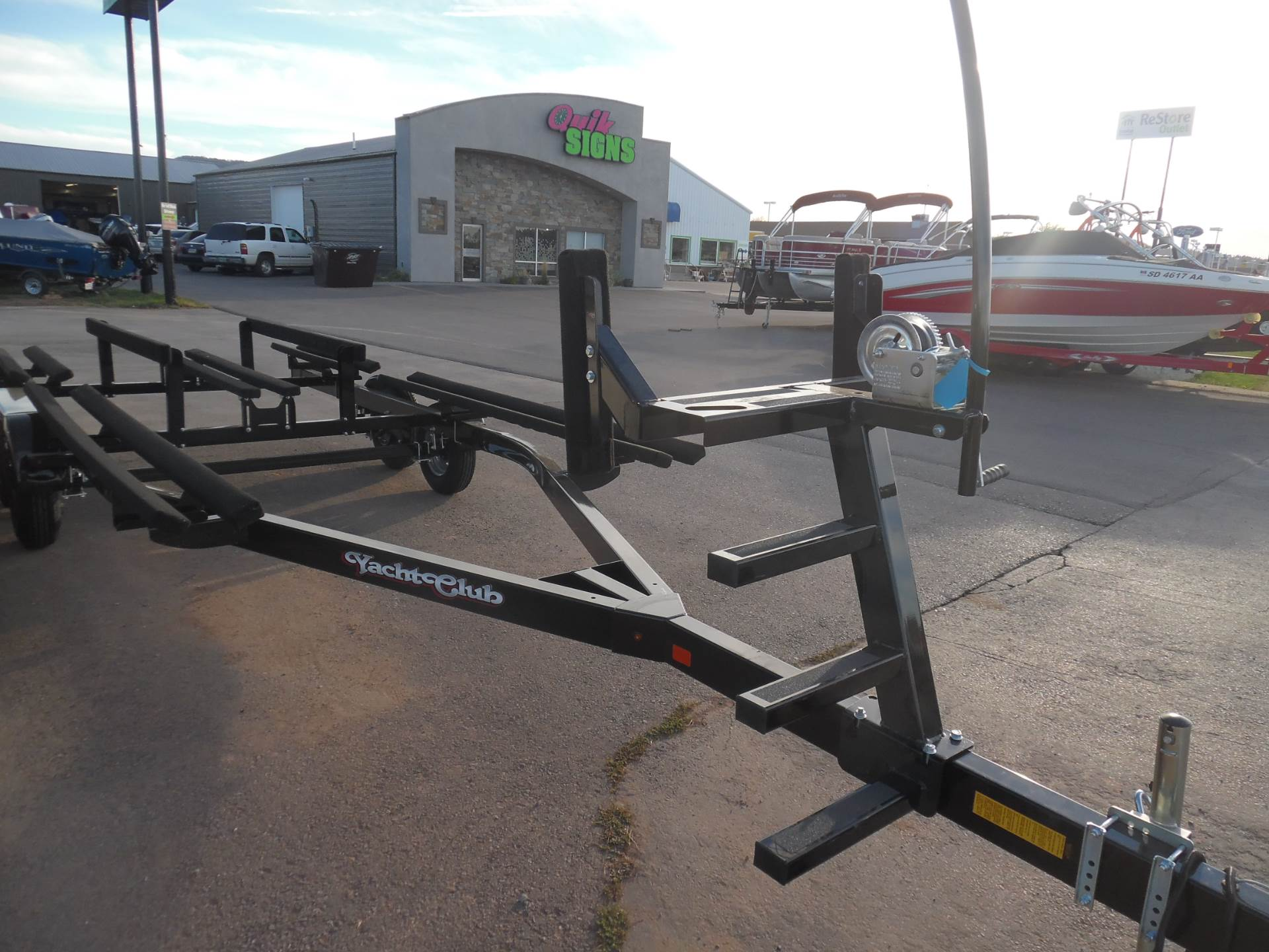 1900 Yacht Club Tandem Axle Pontoon Trailers for 18'-28' pontoons and tri-toons- in stock! in Spearfish, South Dakota - Photo 1