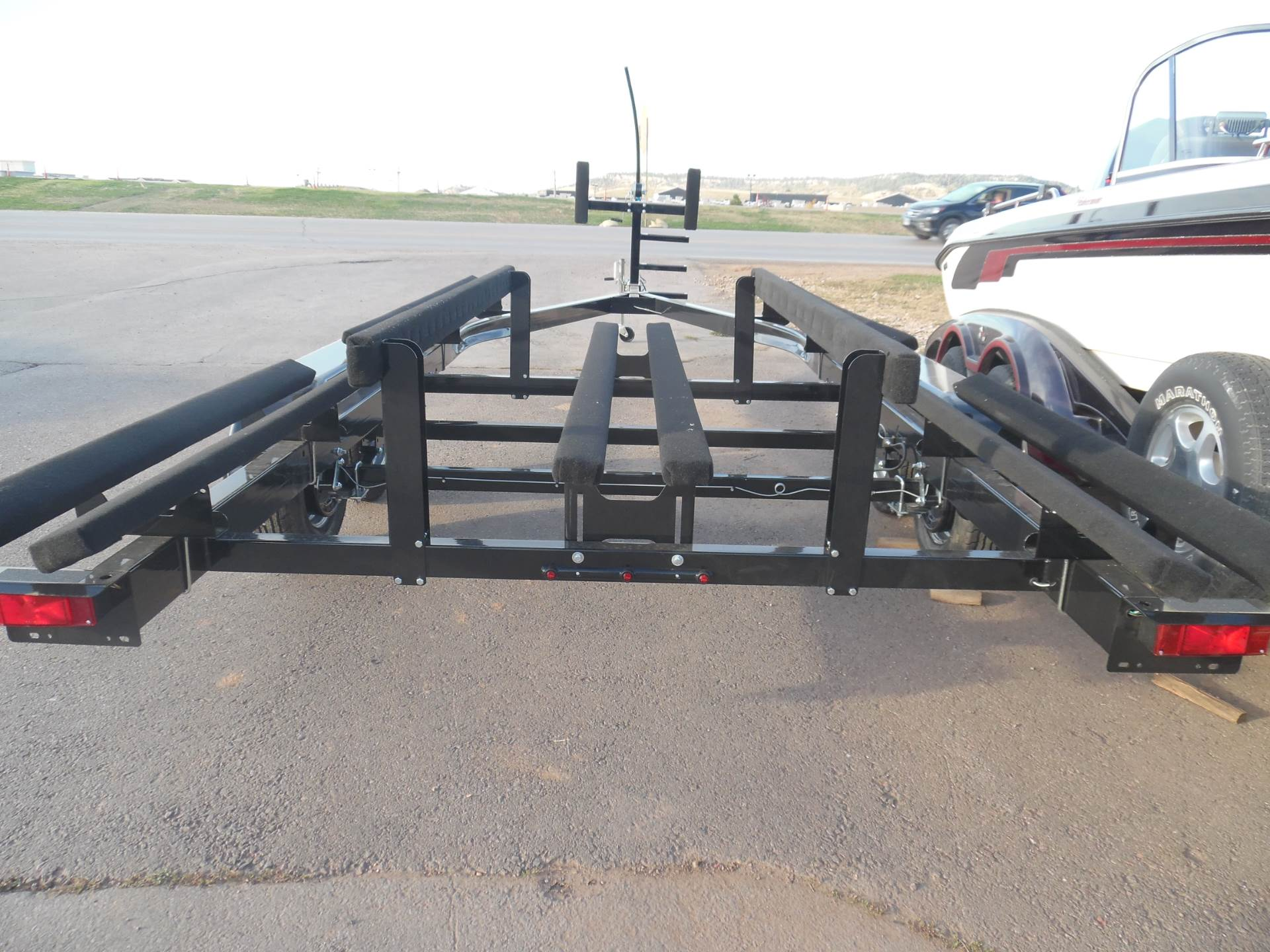 1900 Yacht Club Tandem Axle Pontoon Trailers for 18'-28' pontoons and tri-toons- in stock! in Spearfish, South Dakota - Photo 5