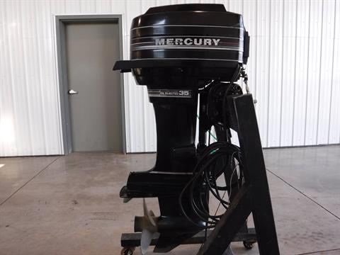 1987 Mercury Marine 35 EL Electric Start Long Shaft Pre-Mix in Spearfish, South Dakota