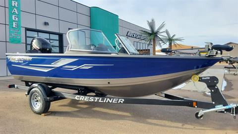 2021 Crestliner 1750 Super Hawk Jumpseat in Spearfish, South Dakota