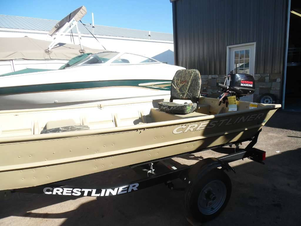 2016 Crestliner 12' Extra-Wide Jon Boat Package in Spearfish, South Dakota - Photo 1